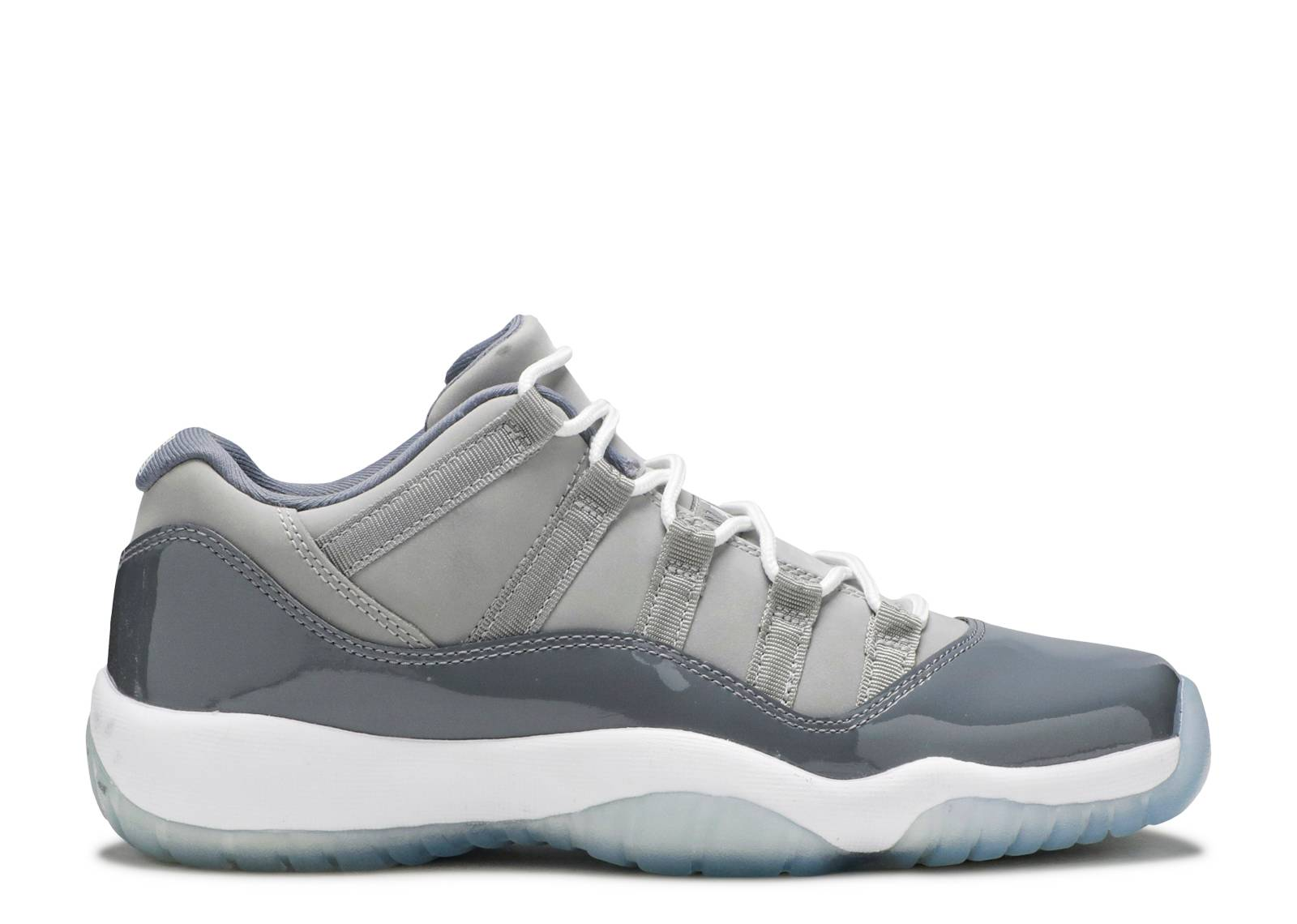 "air jordan 11 retro low bg (gs) ""cool grey"""