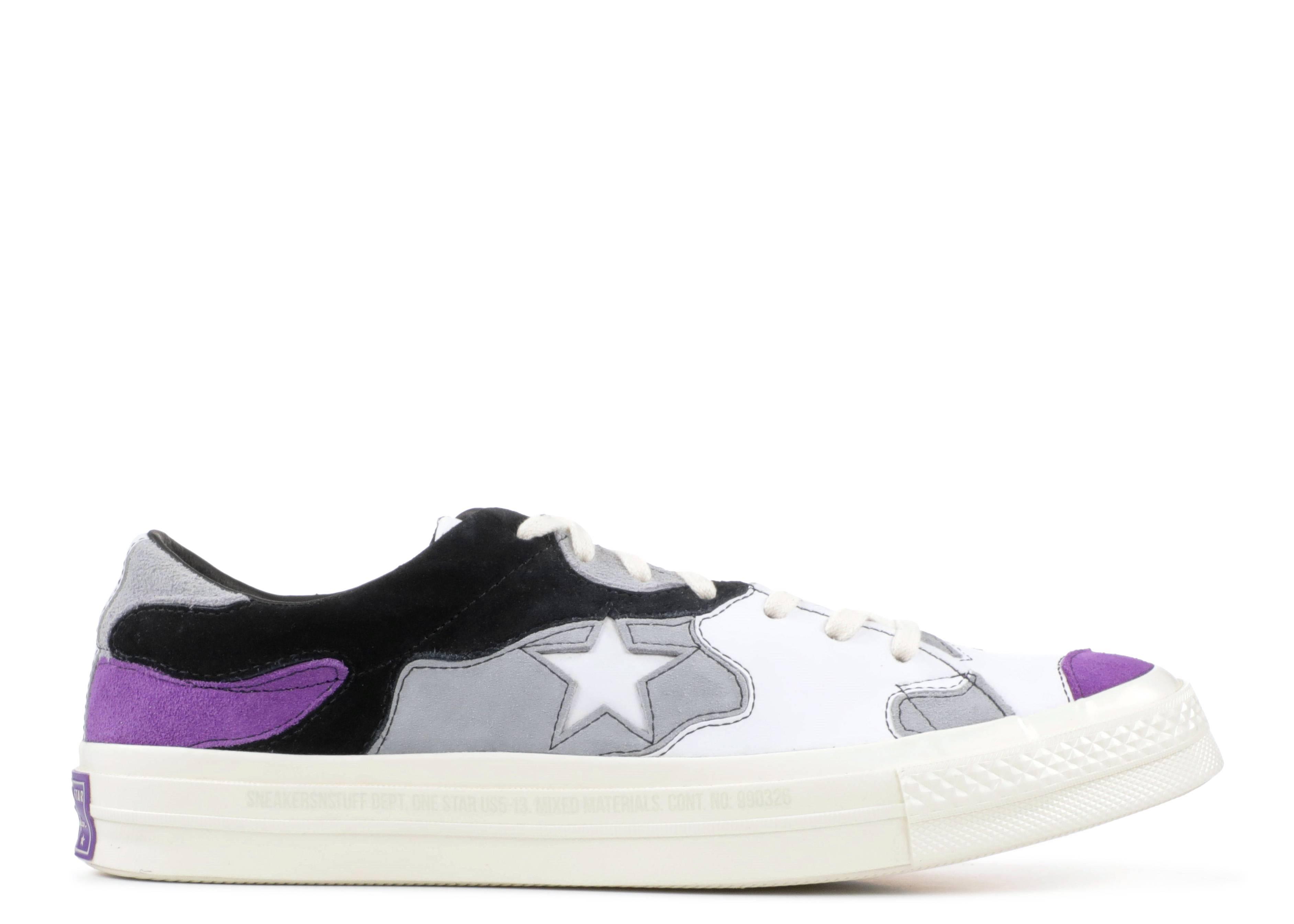 "one star ox ""Purple Camo"""