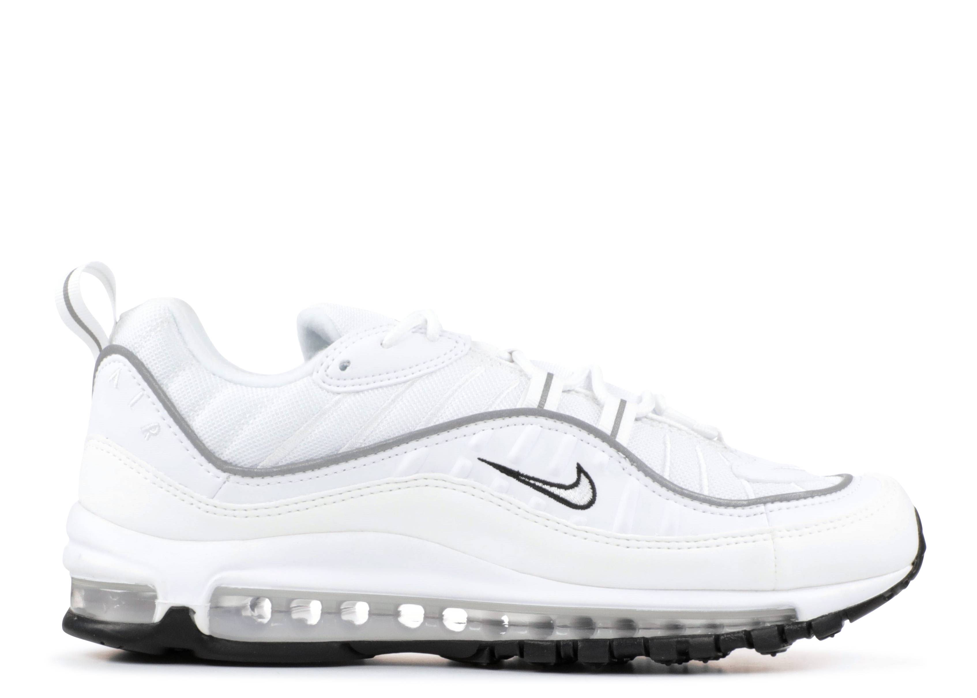 W Air Max 98 - Nike - ah6799 103 - white white-reflect silver ... 1b45994ed