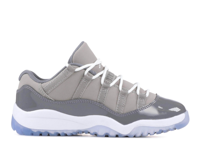 """jordan 11 retro low bp """"Cool Grey"""""""