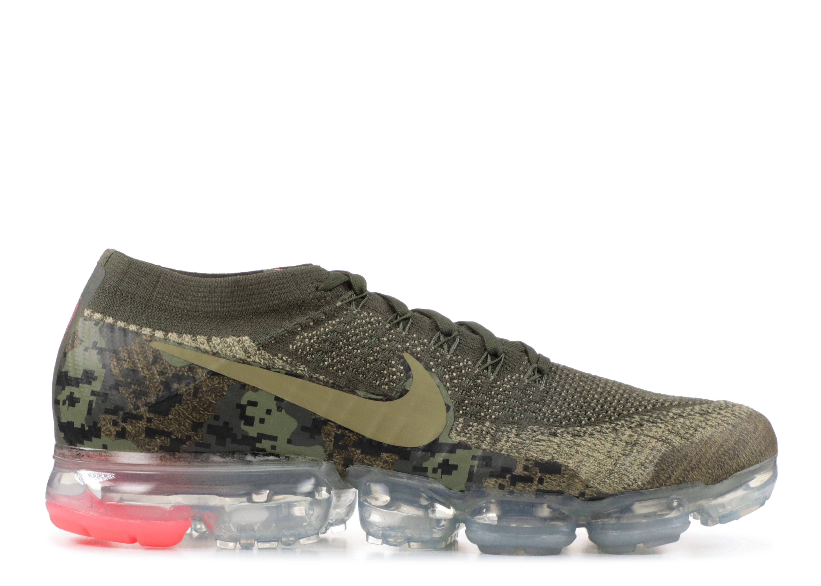 """nike air vapormax flyknit c """"Olive Camo"""""""