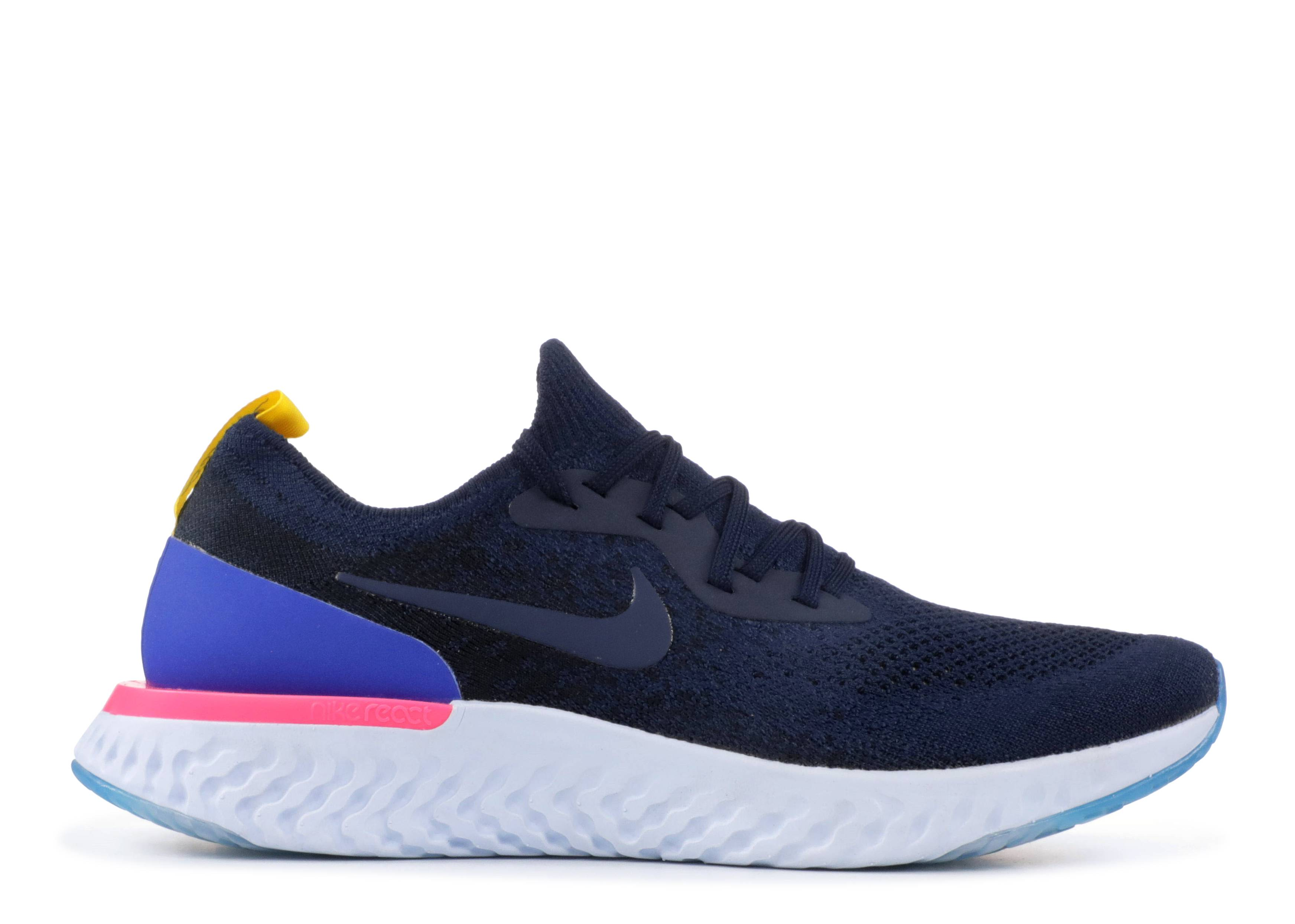 e05c1783349df Wmns Nike Epic React Flyknit - Nike - aq0070 400 - college navy ...