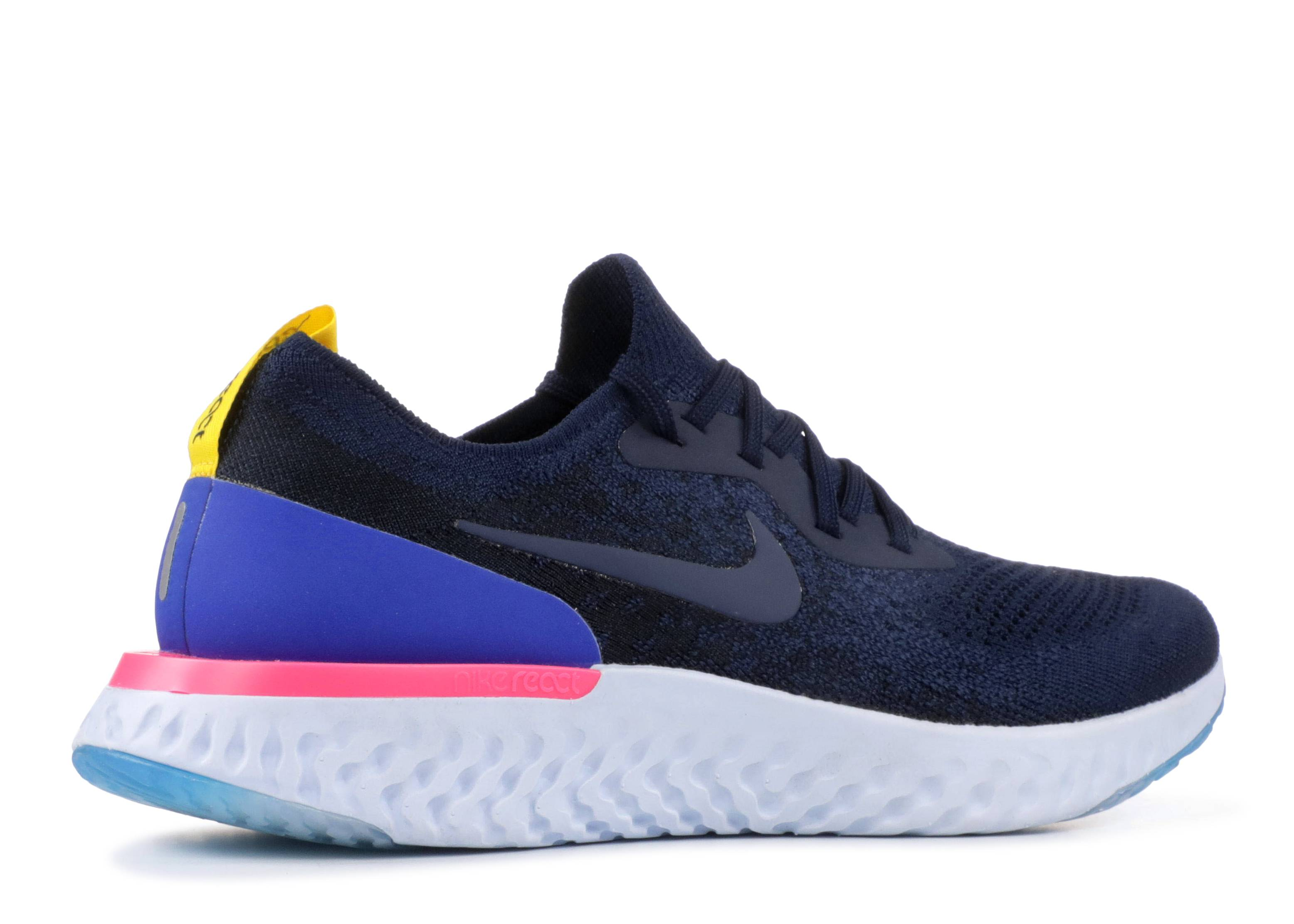 af9a2ed9c9e4c Wmns Nike Epic React Flyknit - Nike - aq0070 400 - college navy college navy