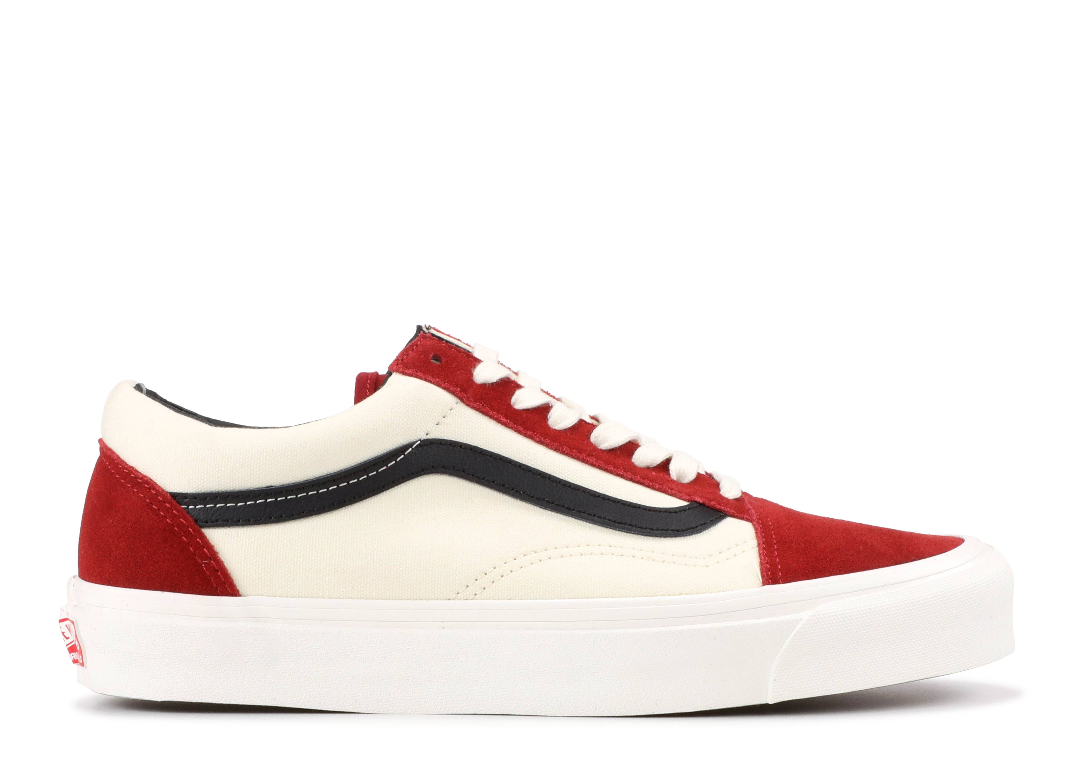 "Og Old Skool LX ""Red Dahila"""