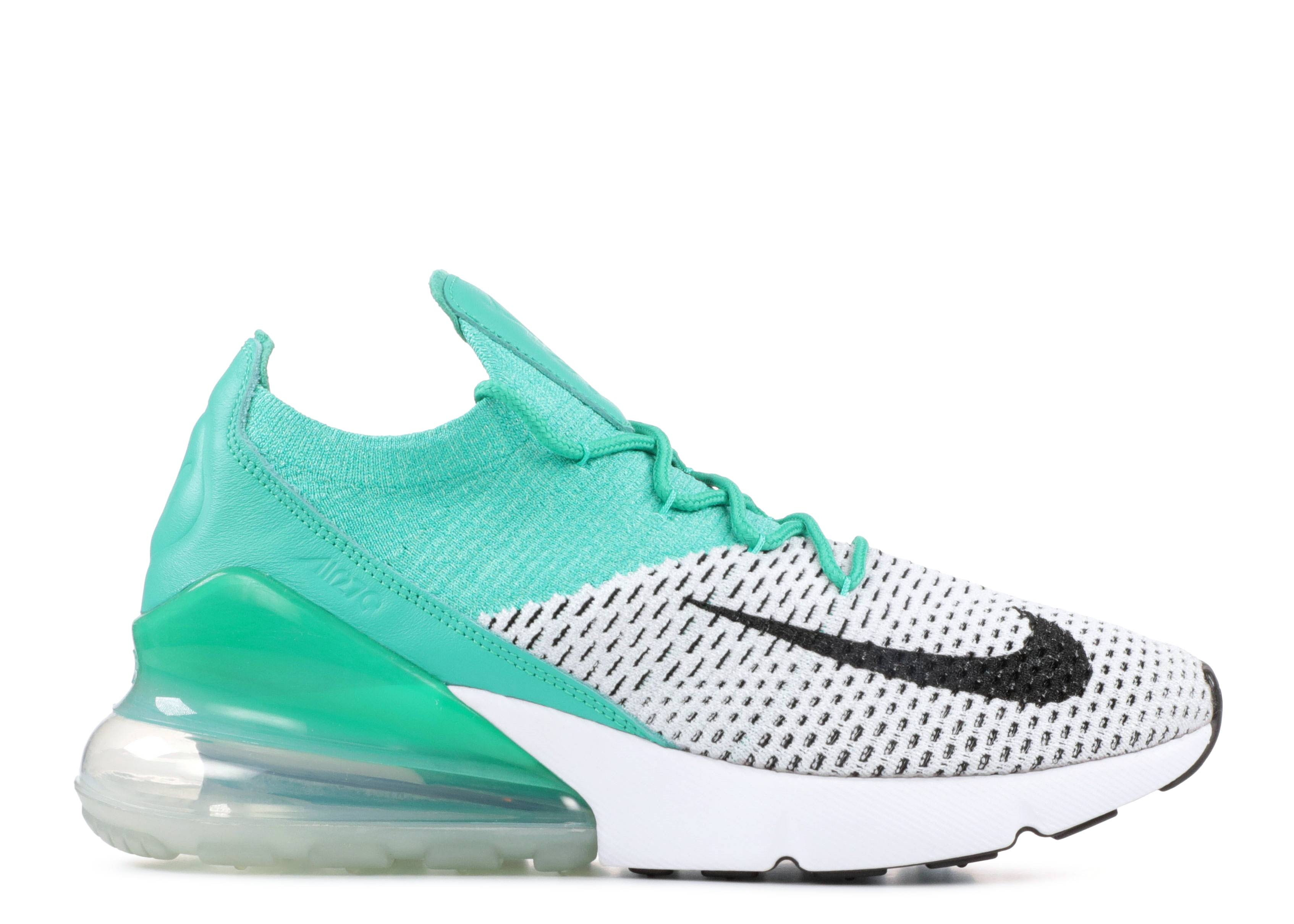 Nike Air Max 270 Flyknit W shoes white orange