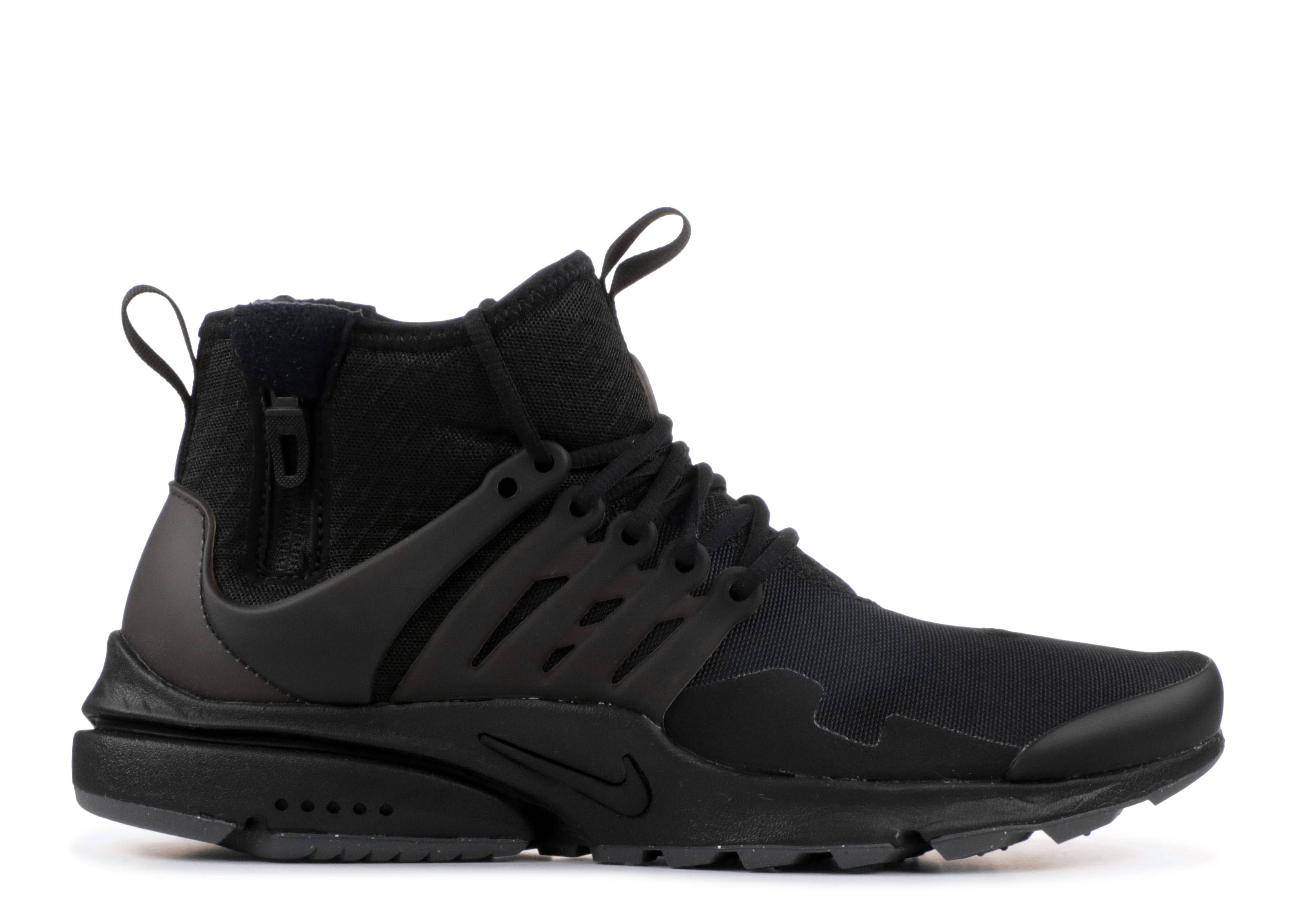 afa86b280 Nike Air Presto Mid Utility - Nike - 859524 006 - black/black-black ...