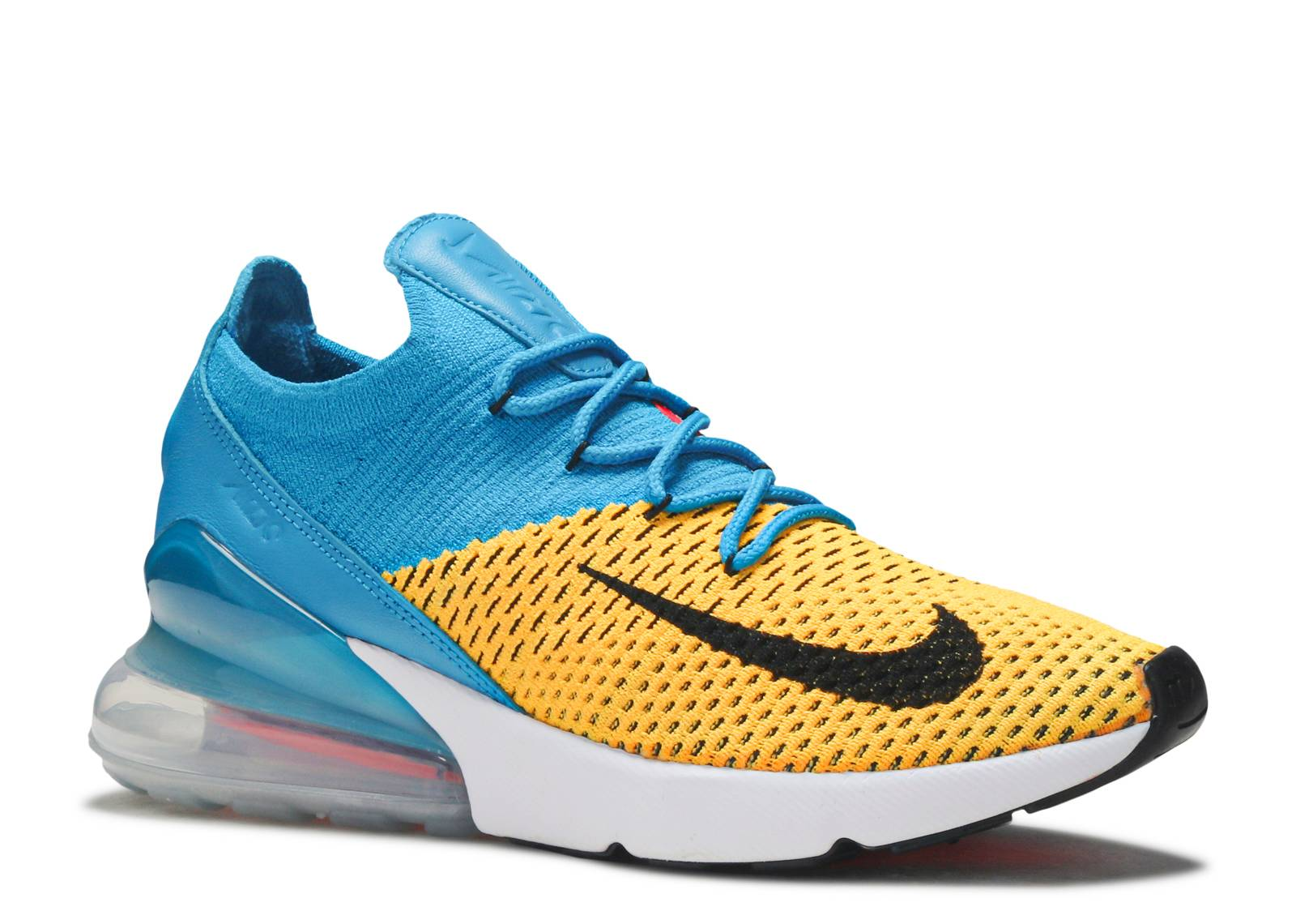 low priced 980c4 6d7c6 Air Max 270 Flyknit - Nike - ao1023 800 - laser orange blue orbit   Flight  Club