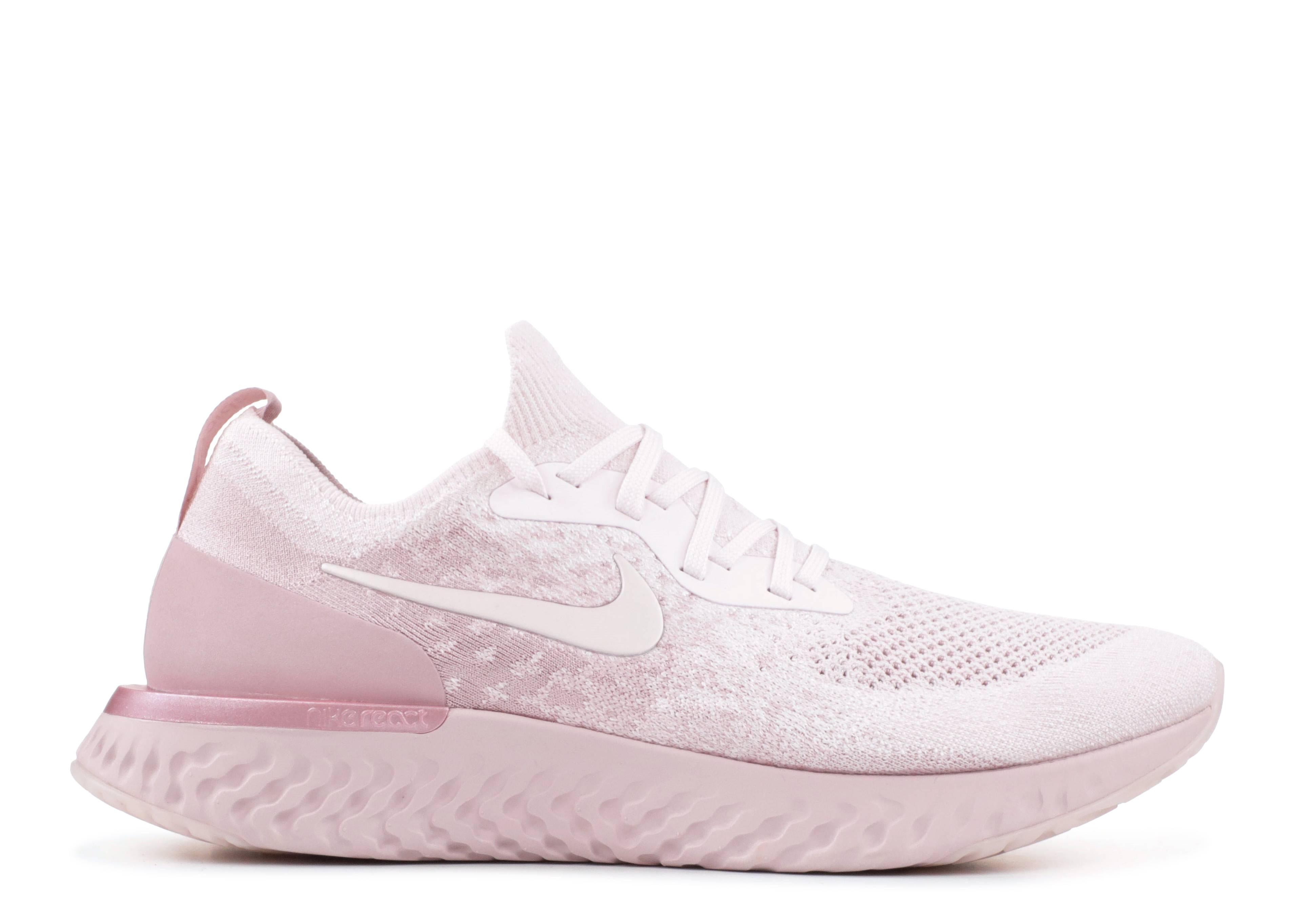 8d0fc0f6452 Nike Epic React Flyknit - Nike - aq0067 600 - pearl pink