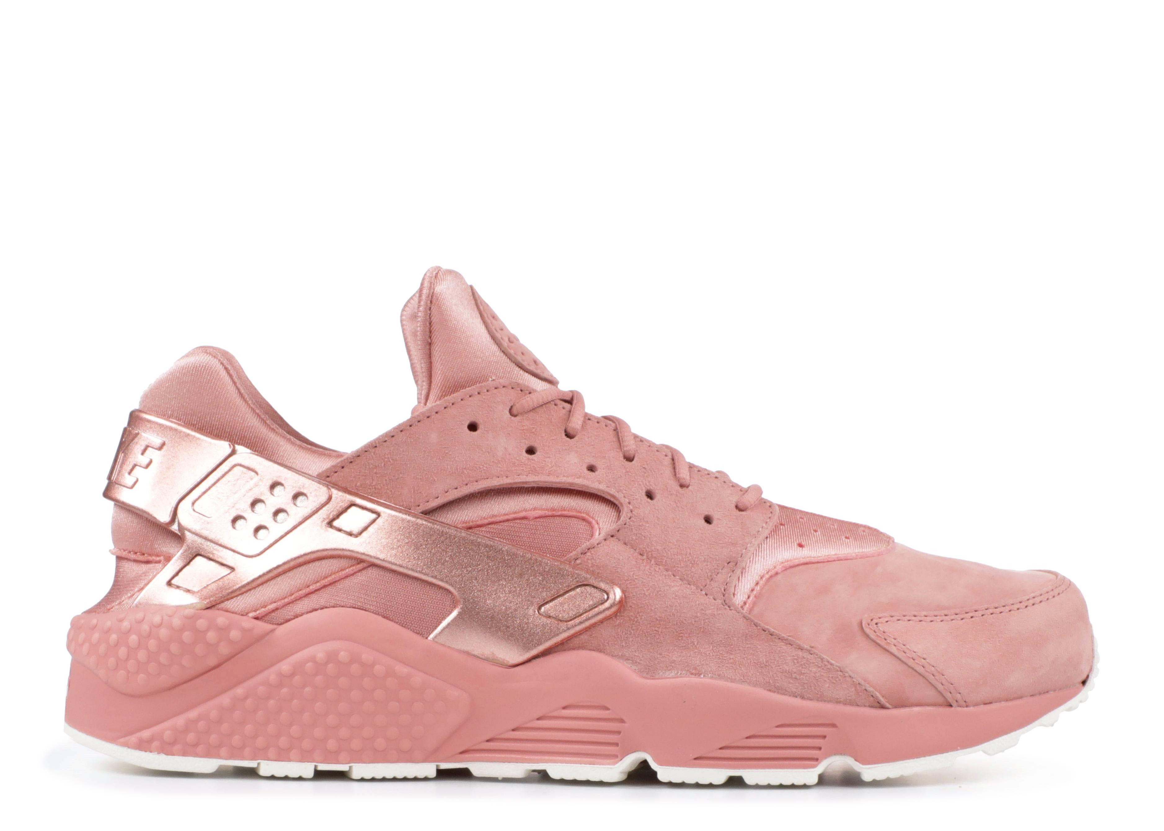 4f18f07b757a1 Nike Air Huarache Run Prm - Nike - 704830 601 - rust pink mtlc red ...