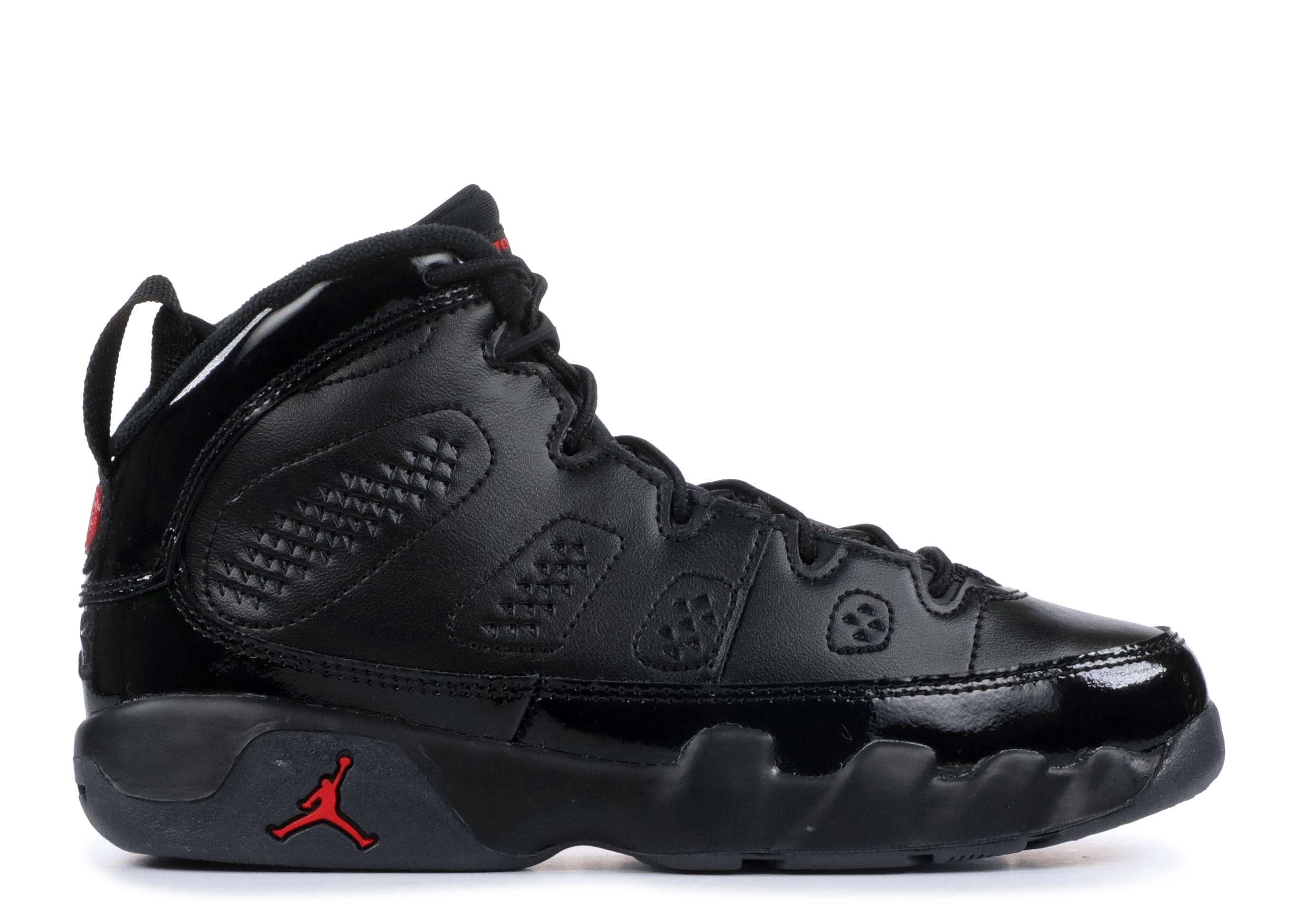 2e703184f493 Jordan 9 Retro BP - Air Jordan - 401811 014 - black university red ...