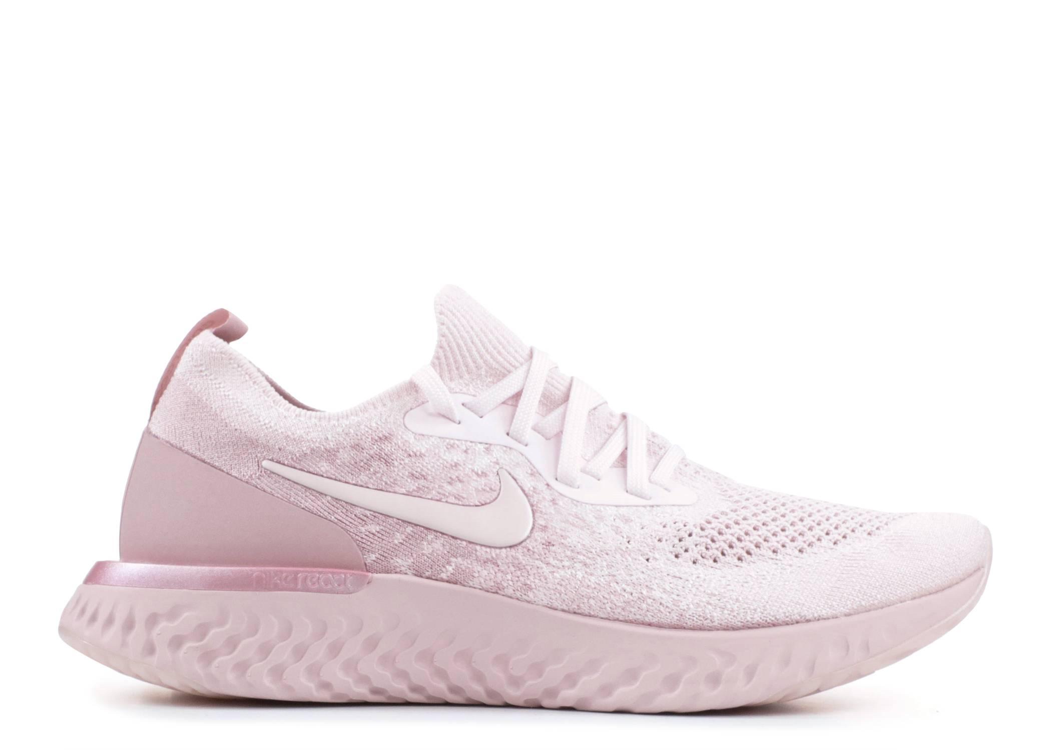 f193458277b3 WMNS Nike Epic React Flyknit - Nike - AQ0070 600 - pearl pink pearl pink