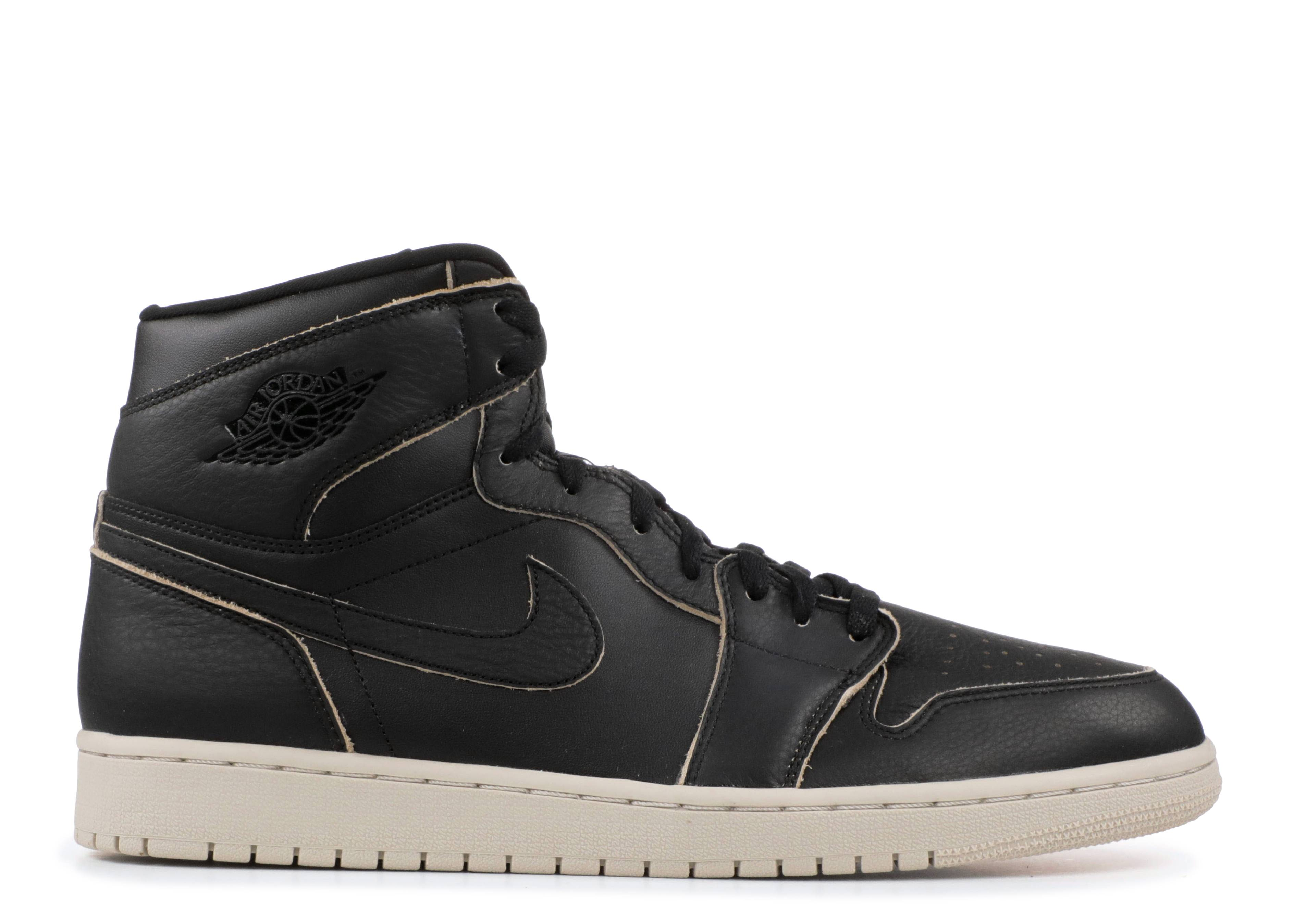 b79964dd7d7735 Air Jordan 1 Retro High Prem - Air Jordan - aa3993 021 - black black ...