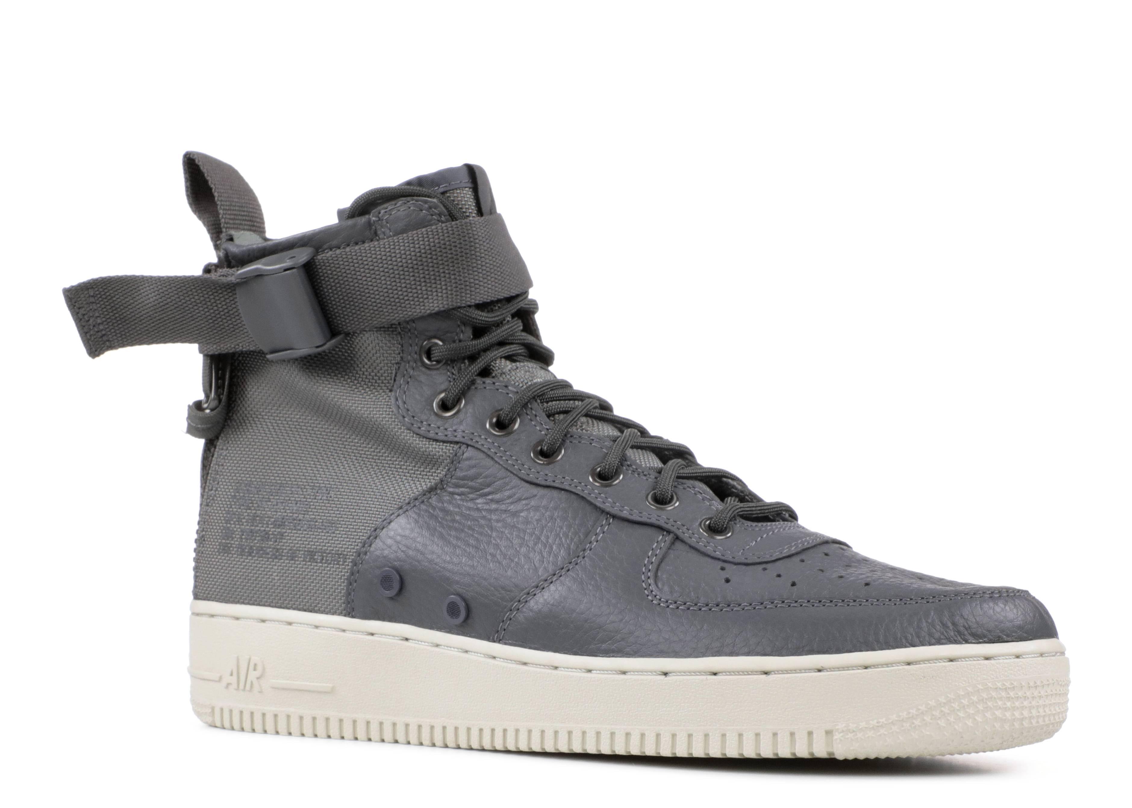 bd455f43b633f1 SF AF1 MID - Nike - 917753 004 - dark grey  dark grey  light bone ...