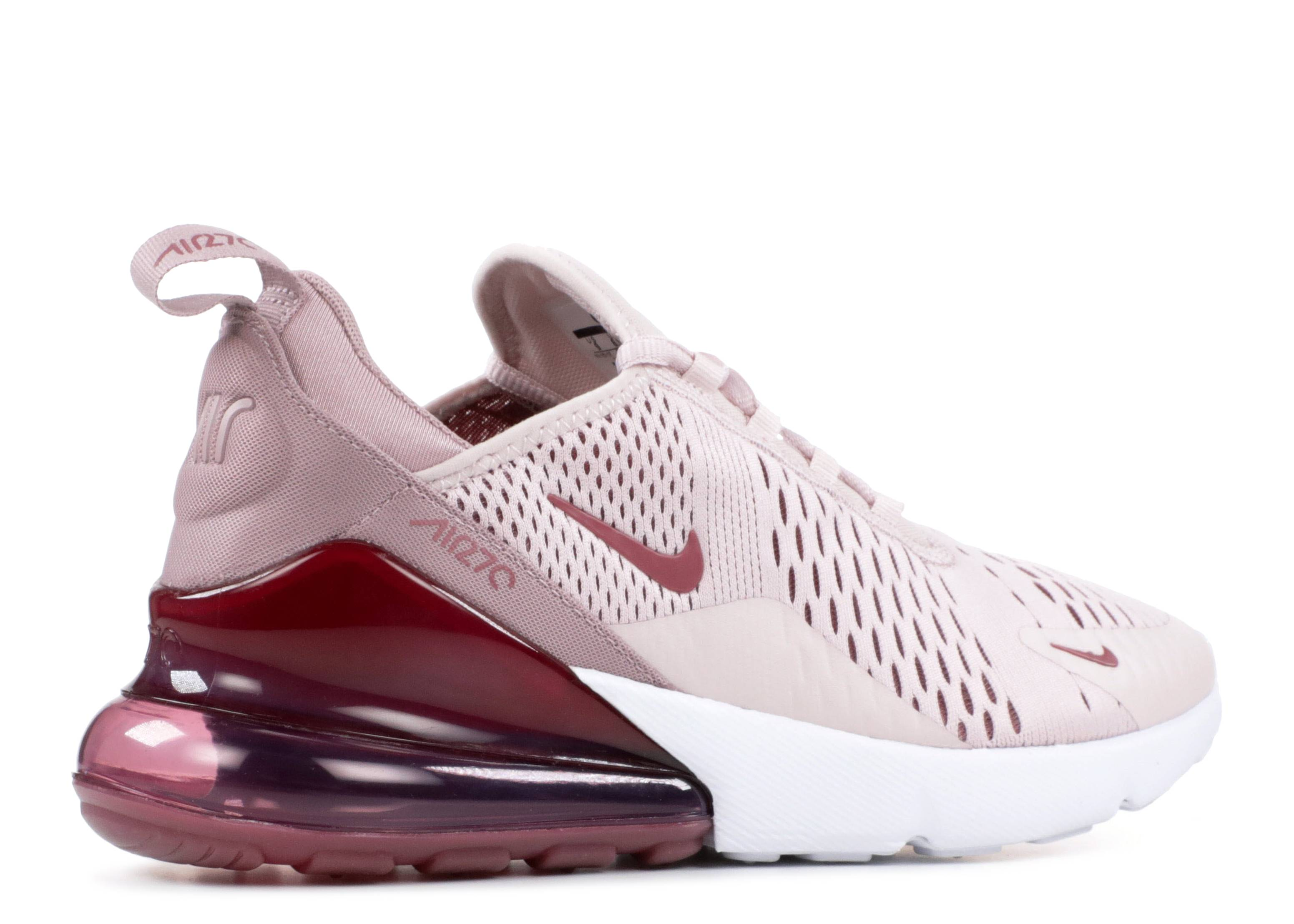 hot sale online 47974 a6d8f W Air Max 270 - Nike - ah6789 601 - barely rose vintage wine   Flight Club