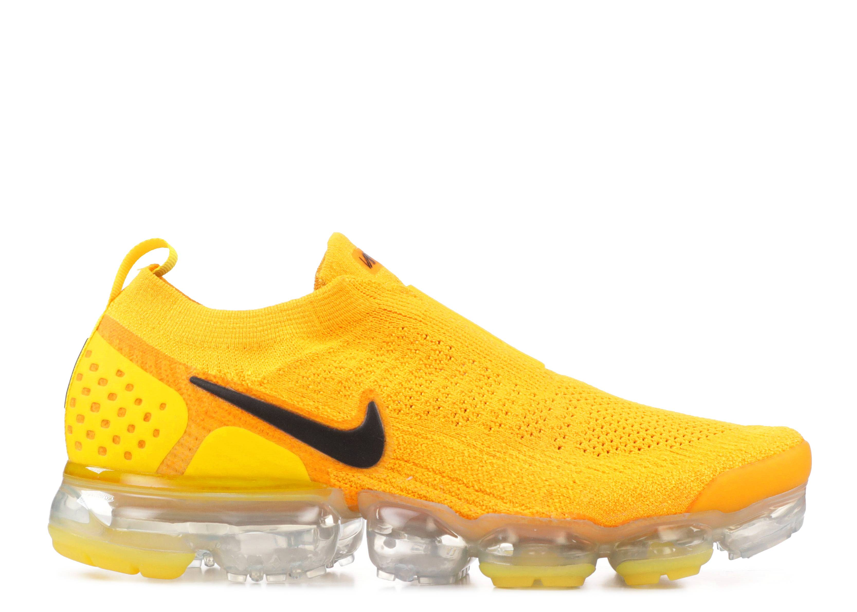 wmns air vapormax fk moc 2 nike aj6599 700 university gold