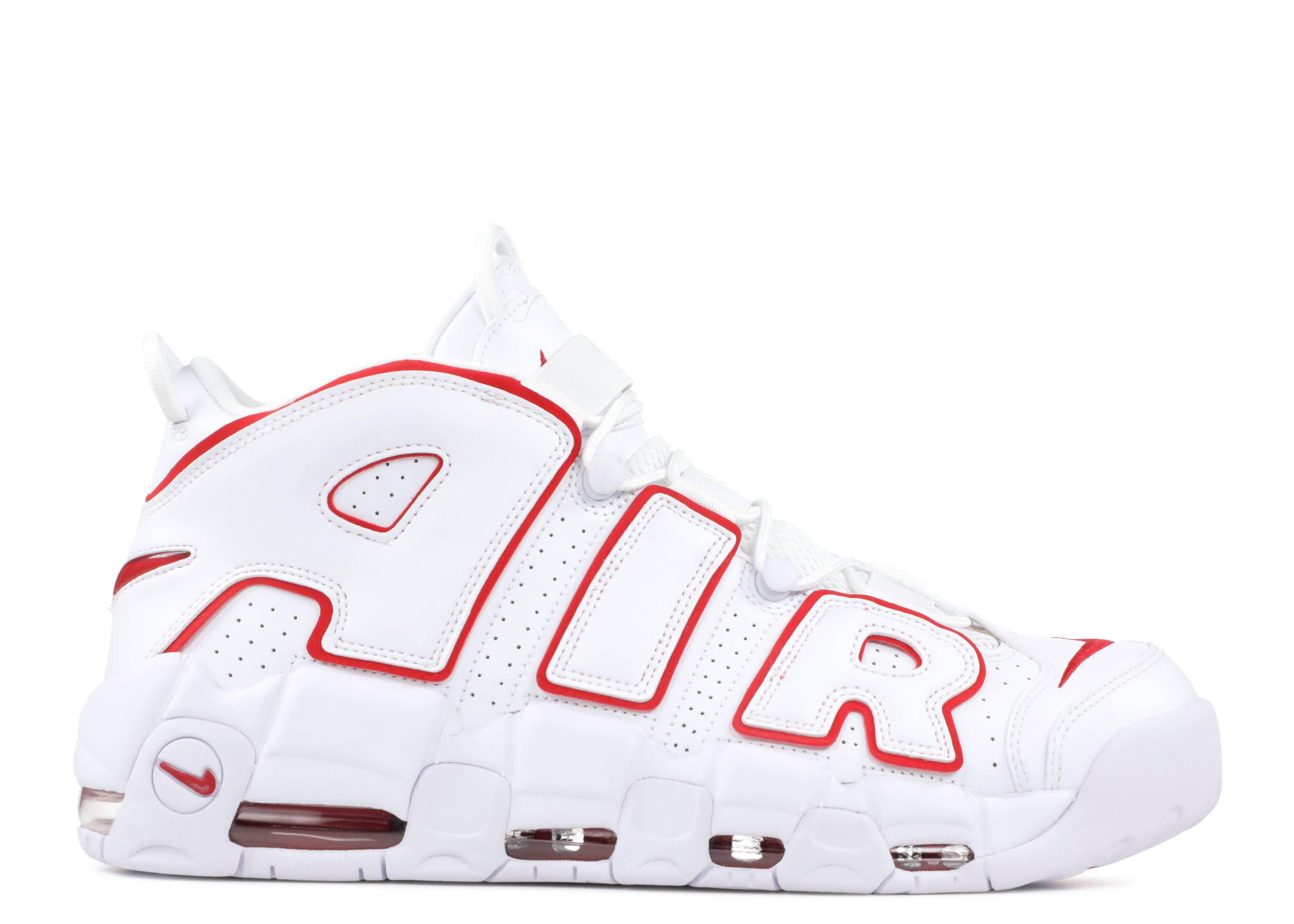 Regresa amplitud Saga  Air More Uptempo 'White Varsity Red' - Nike - 921948 102 - white/varsity red -white | Flight Club