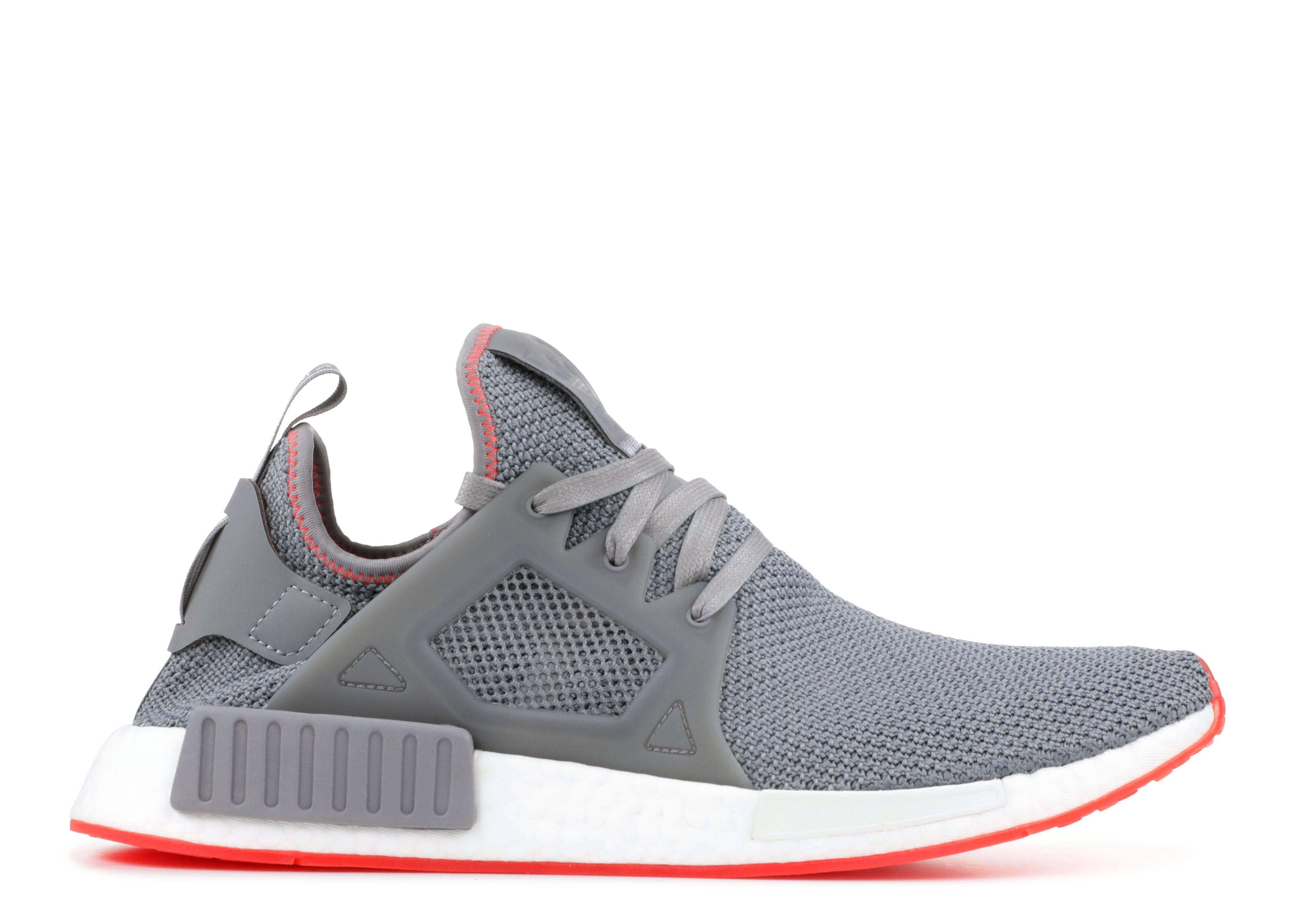 2c04102408675 Nmd Xr1 - Adidas - BY9925 - grey grey solar red