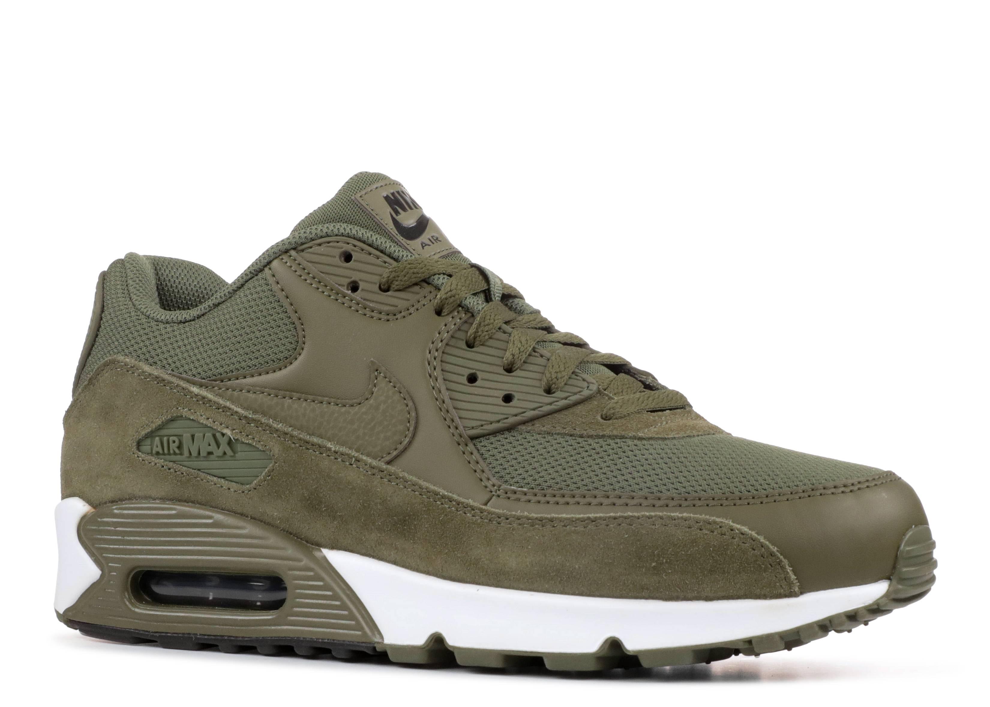 Air Max 90 Essential - Nike - 537384 201 - dark green/medium olive ...