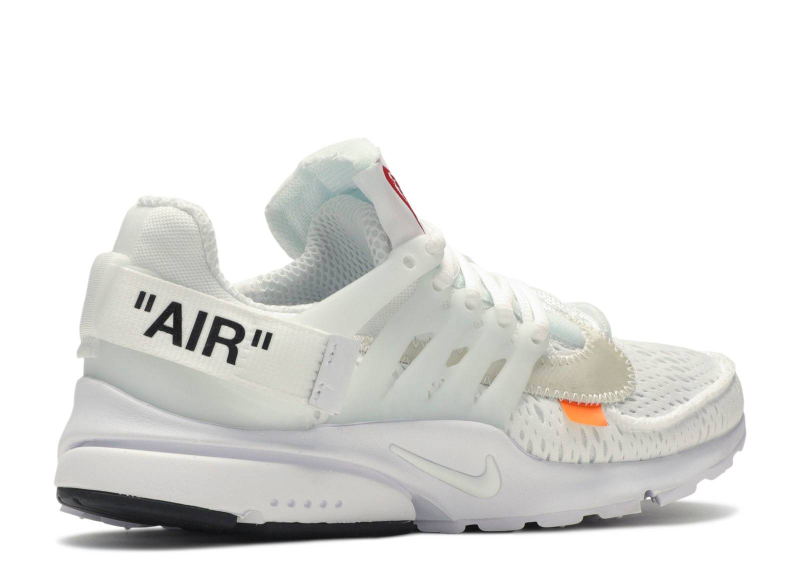 Resignación Azul levantar  Off White X Air Presto 'White' - Nike - AA3830 100 - white/black/cone |  Flight Club