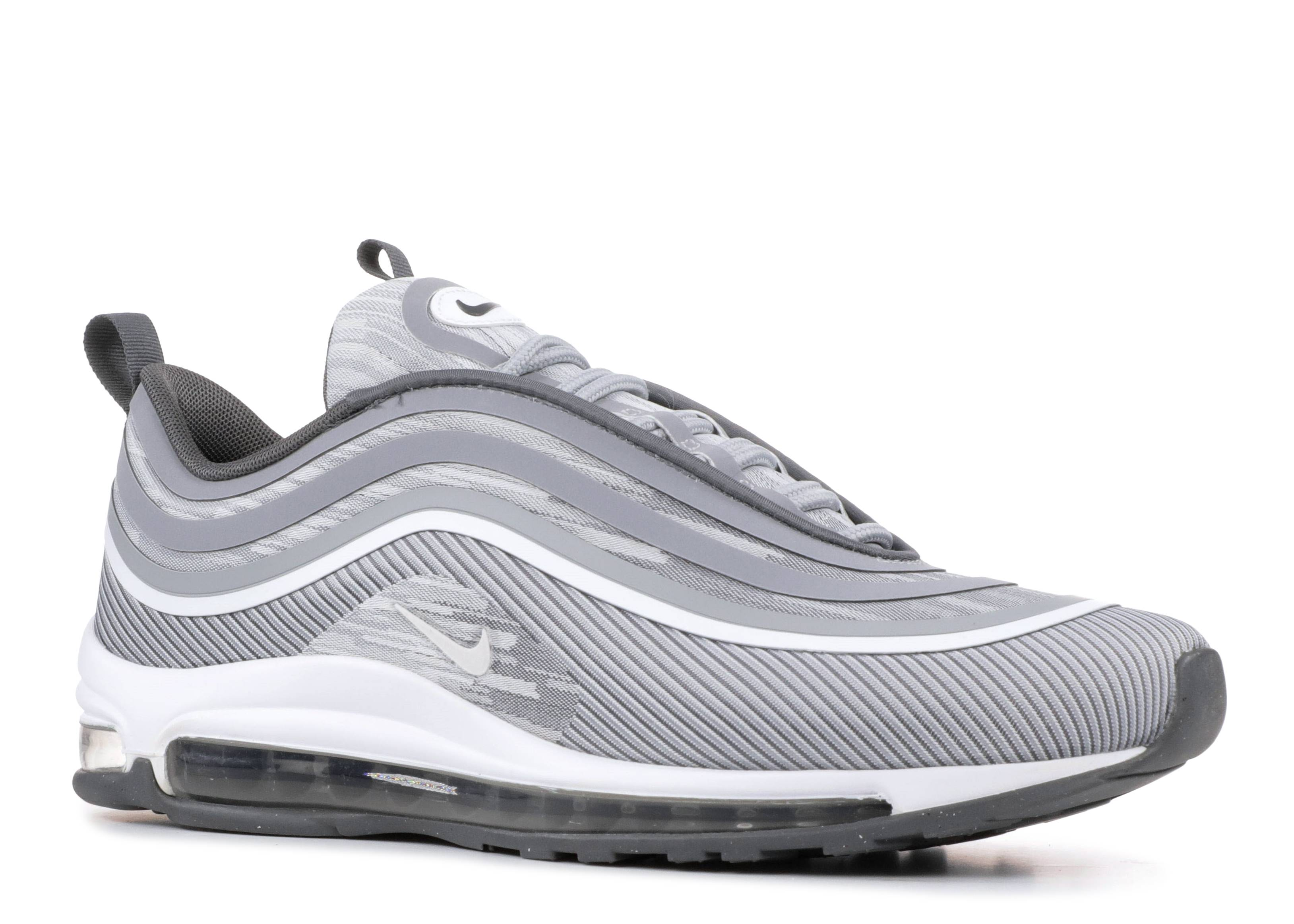 NIKE AIR MAX 97 Ultra 17 Grey Silver Bullet Men Running Shoe Sneakers 918356 007