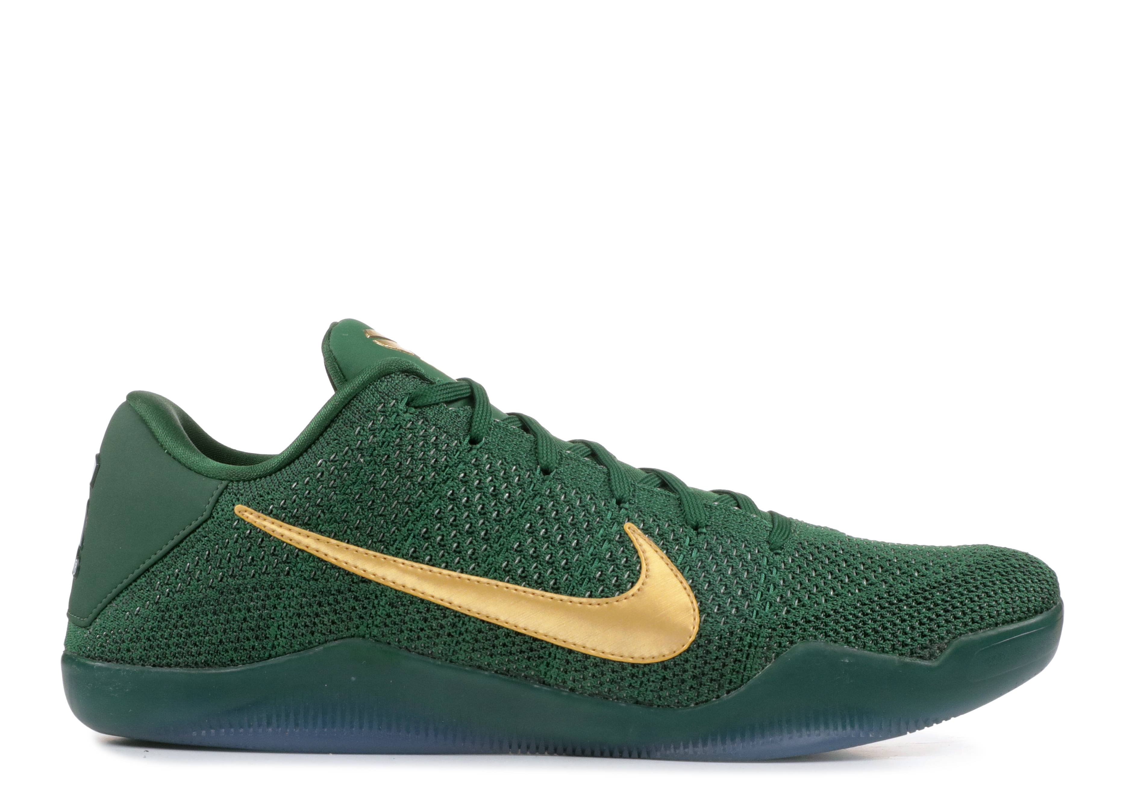 "kobe 11 elite low ""Michigan State P.E."""