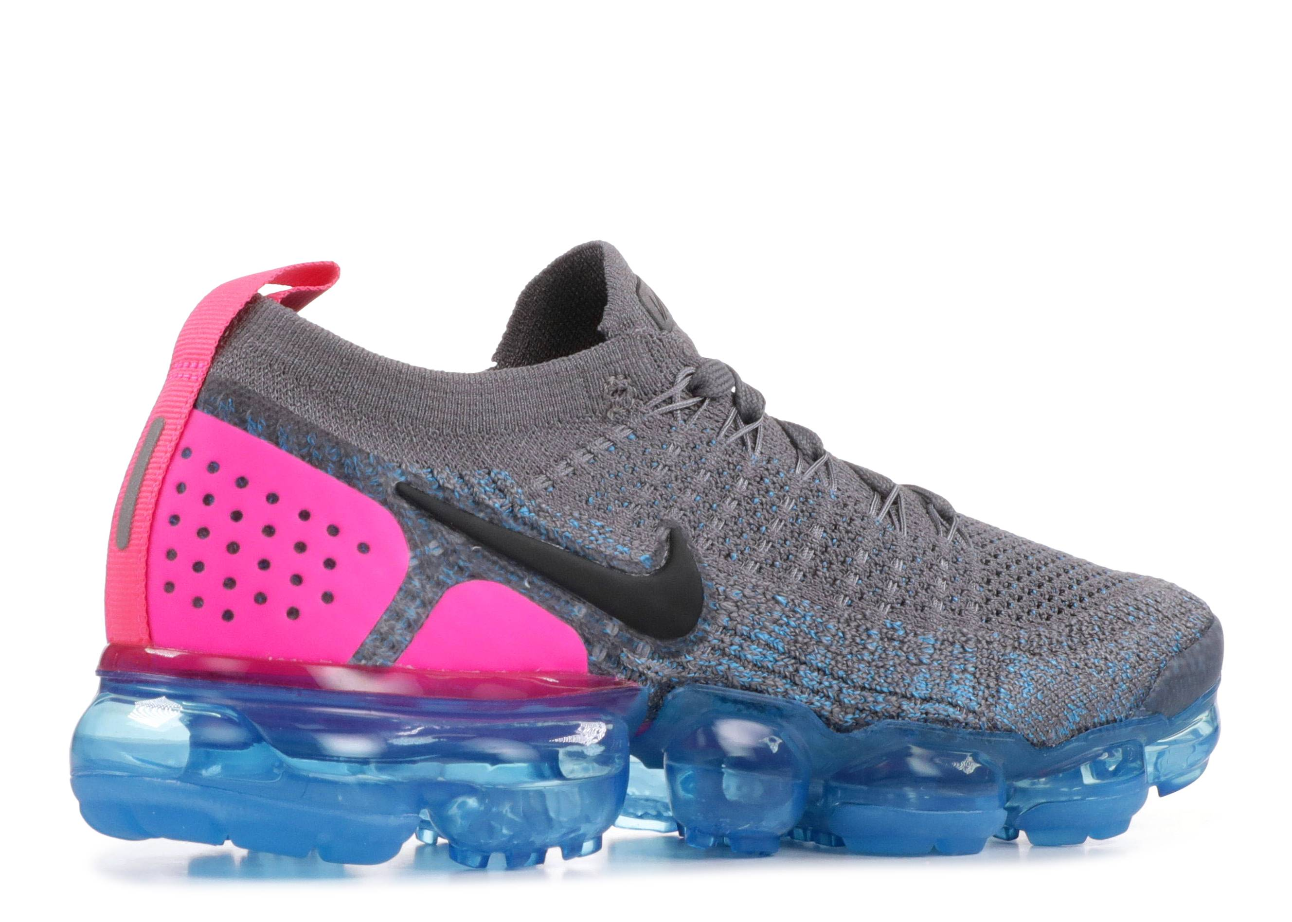 57fb52badf4a W Nike Air Vapormax Flyknit 2 - Nike - 942843 004 - gunsmoke black-blue  orbit