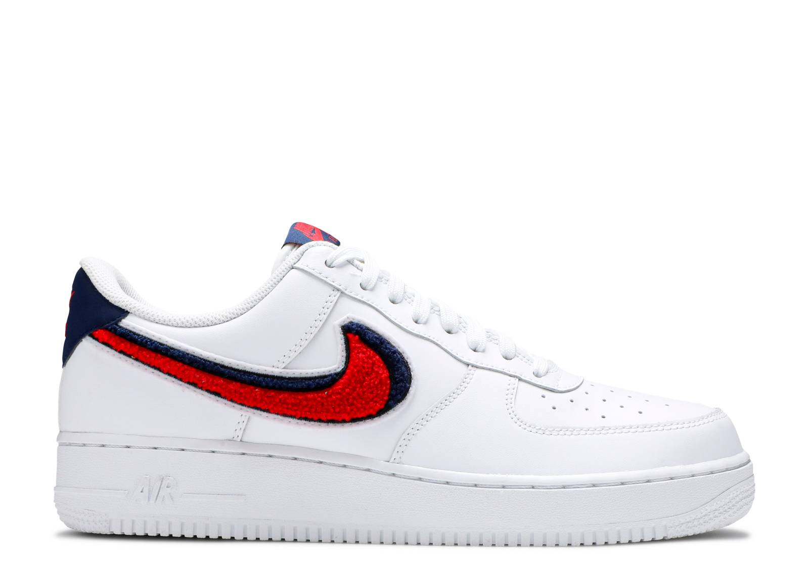 "Air Force 1 07 LV8  ""Chenille Swoosh"""