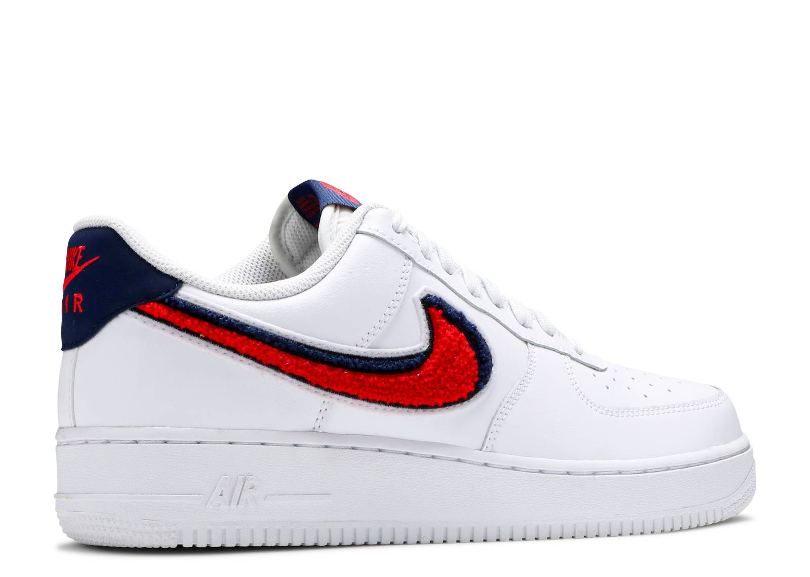 check out a3341 5b9e9 ... aliexpress air force 1 07 lv8 chenille swoosh nike 823511 106 white  university red blue void