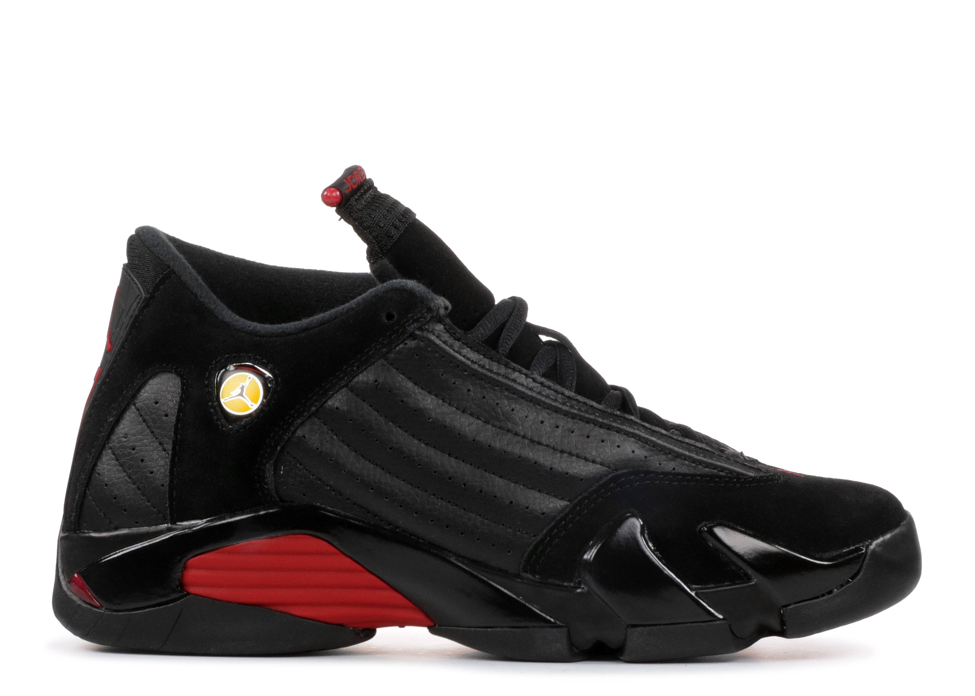 "Air Jordan 14 Retro (BG) ""last shot 2018 release"""