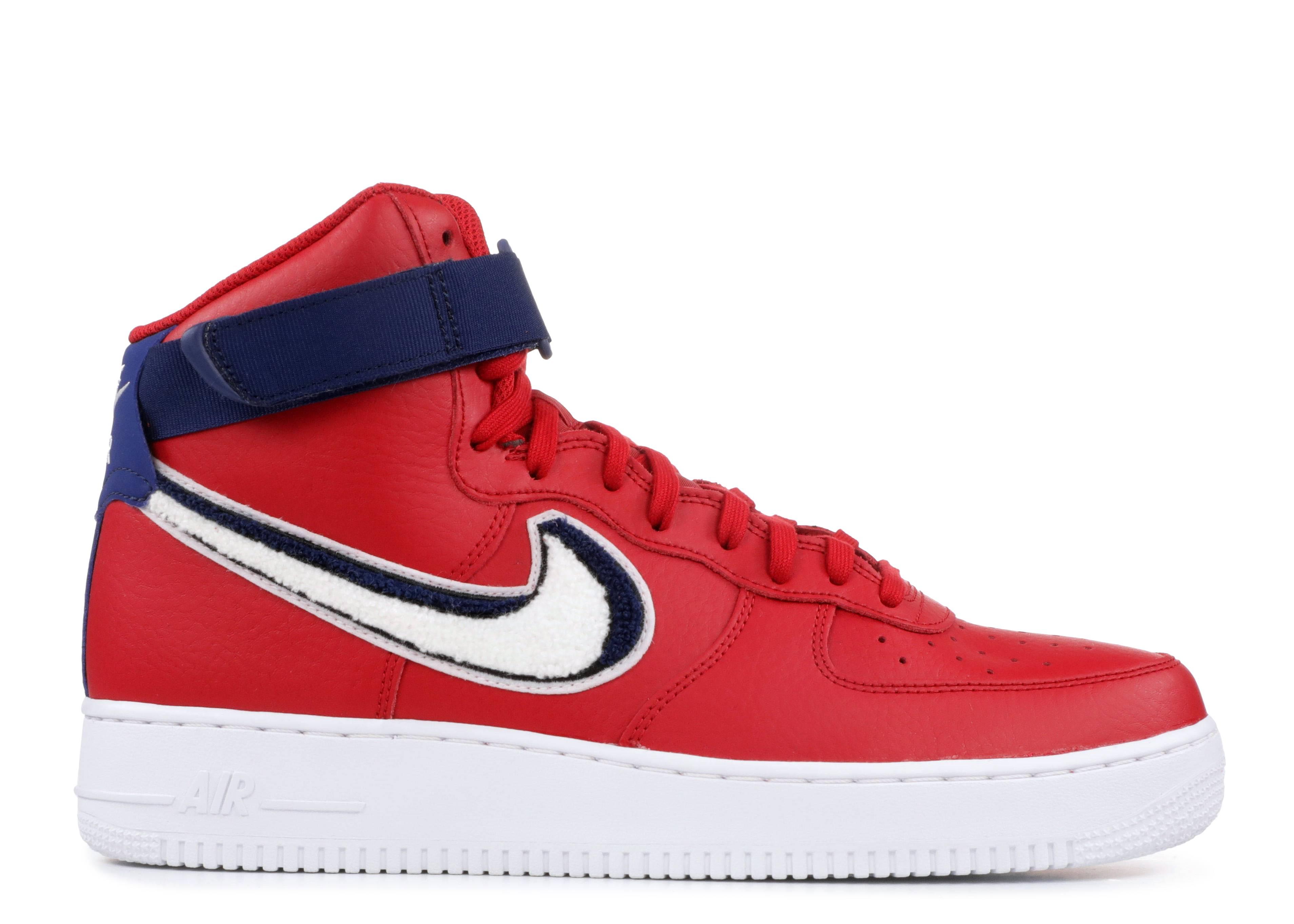 check out 3b08b 57ab5 Air Force 1 High  07 Lv8 - Nike - 806403 603 - gym red white-blue void-white    Flight Club