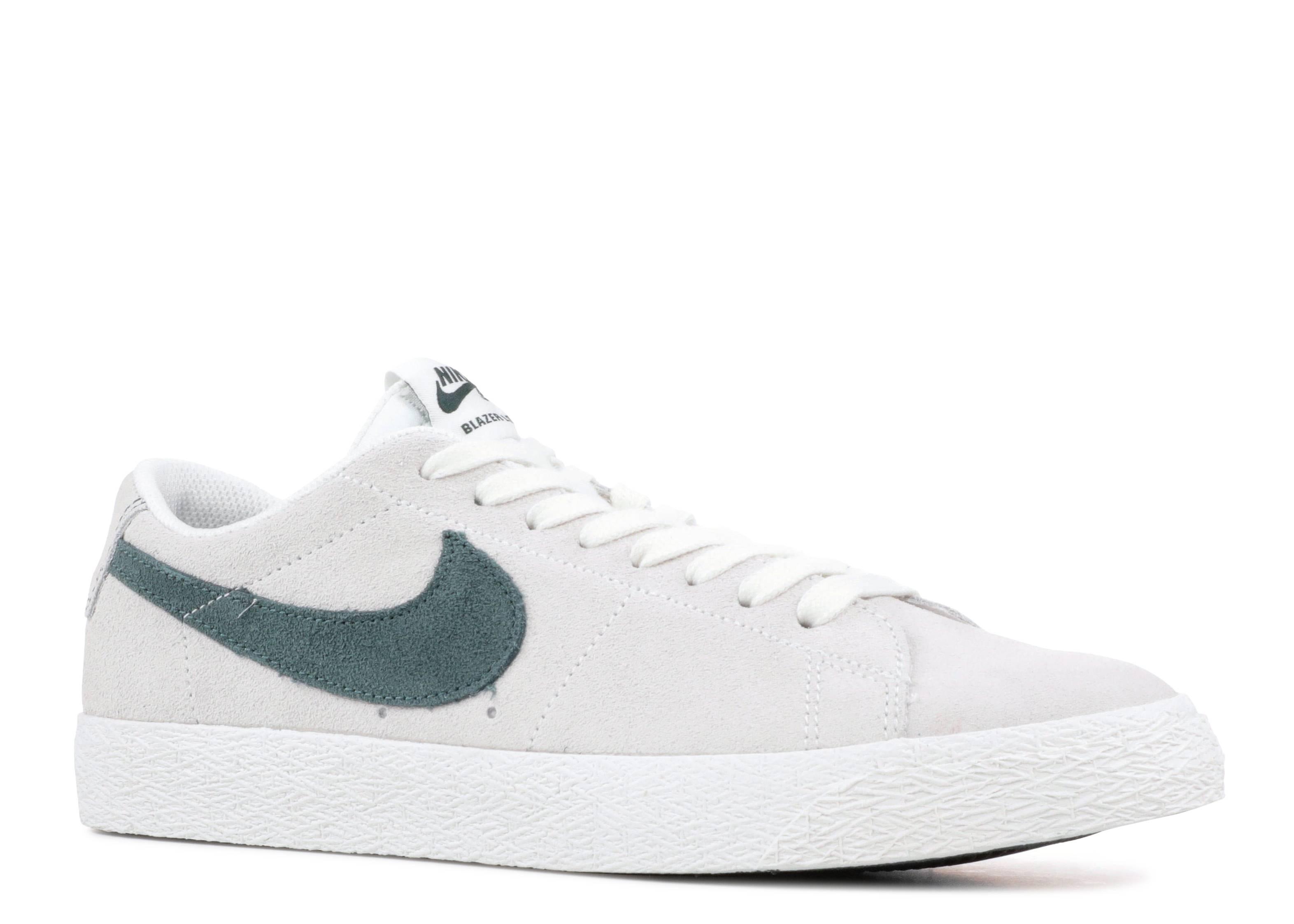 buy popular 25ab8 b0aab Nike Sb Zoom Blazer Low - Nike - 864347 101 - summit white deep jungle    Flight Club