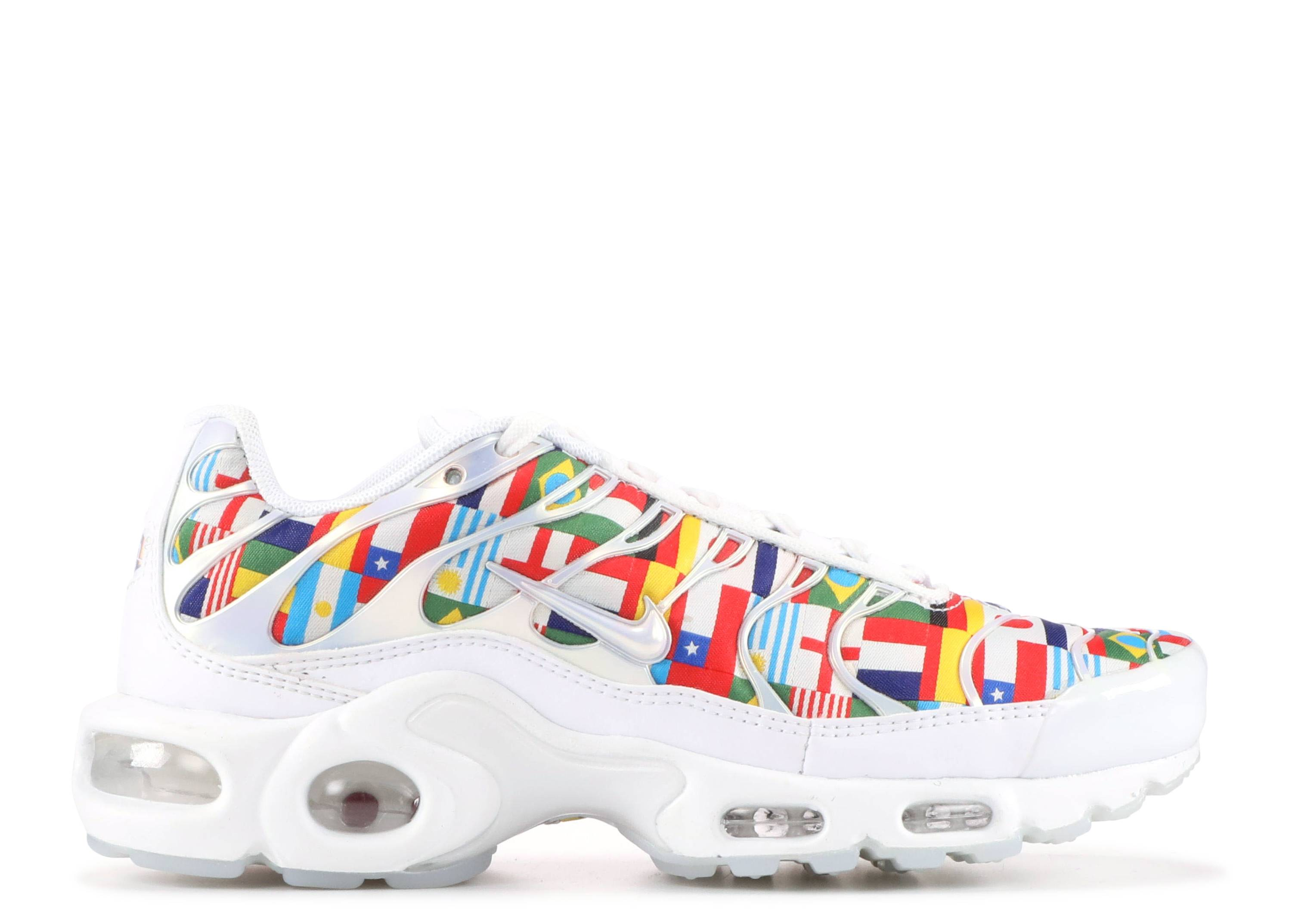 e367973a9b830 Air Max Plus Nic Qs - Nike - ao5117 100 - white/multi-color | Flight ...