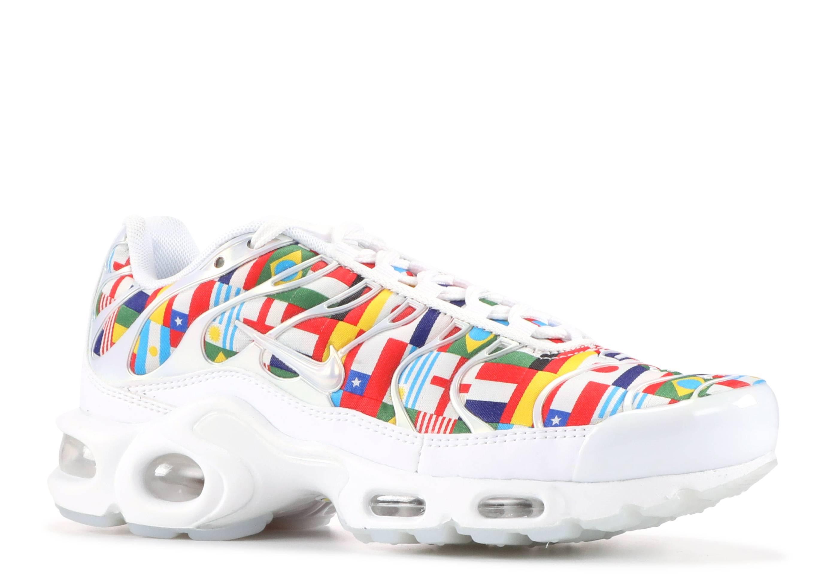 af54610da71 Air Max Plus Nic Qs - Nike - ao5117 100 - white multi-color