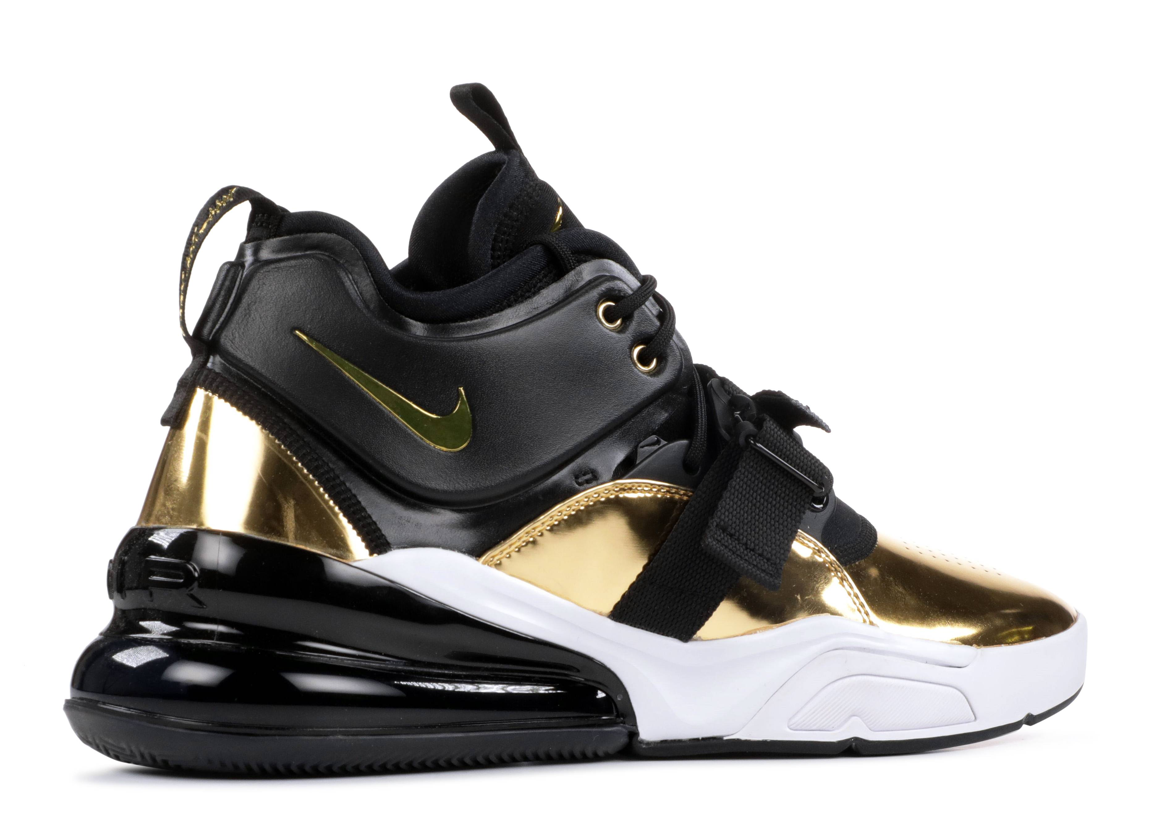 Air Force 270 Ct16 Qs Nike at5752 700 metallic gold