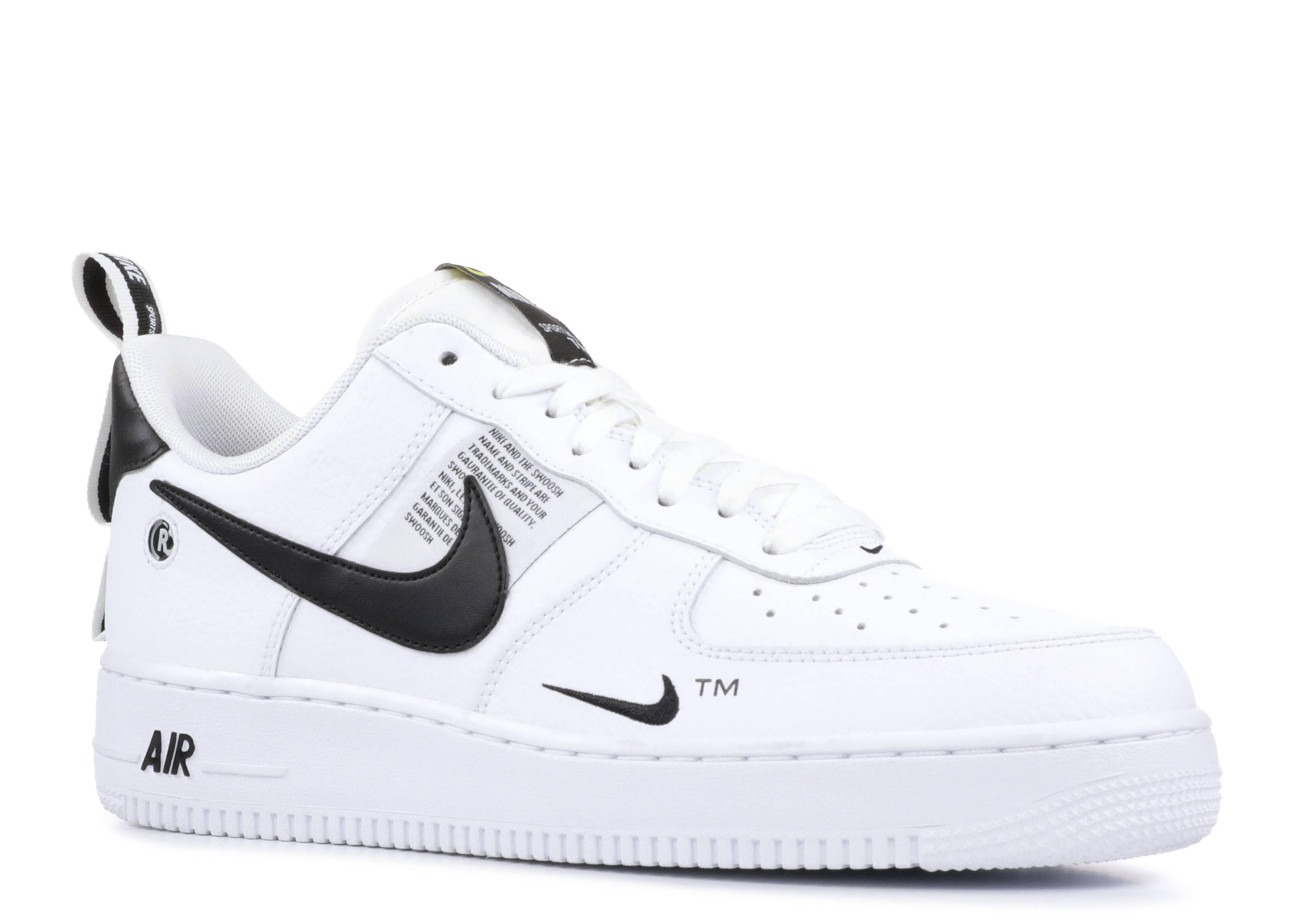 Air Force 1  07 Lv8 Utility - Nike - aj7747 100 - white white-black-tour  yellow  fbdcc112a0