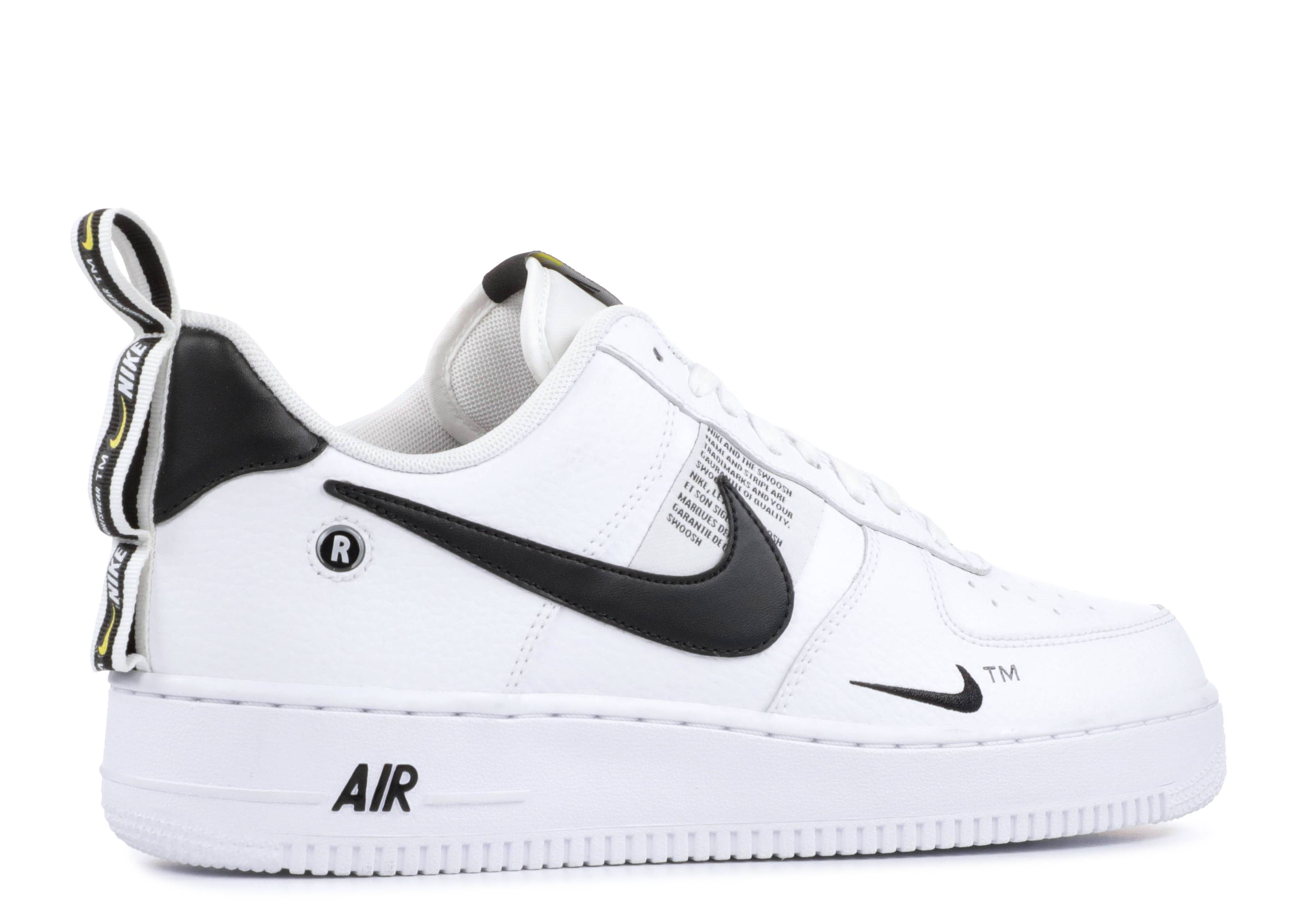 8548783d0a7c Air Force 1  07 Lv8 Utility - Nike - aj7747 100 - white white-black-tour  yellow