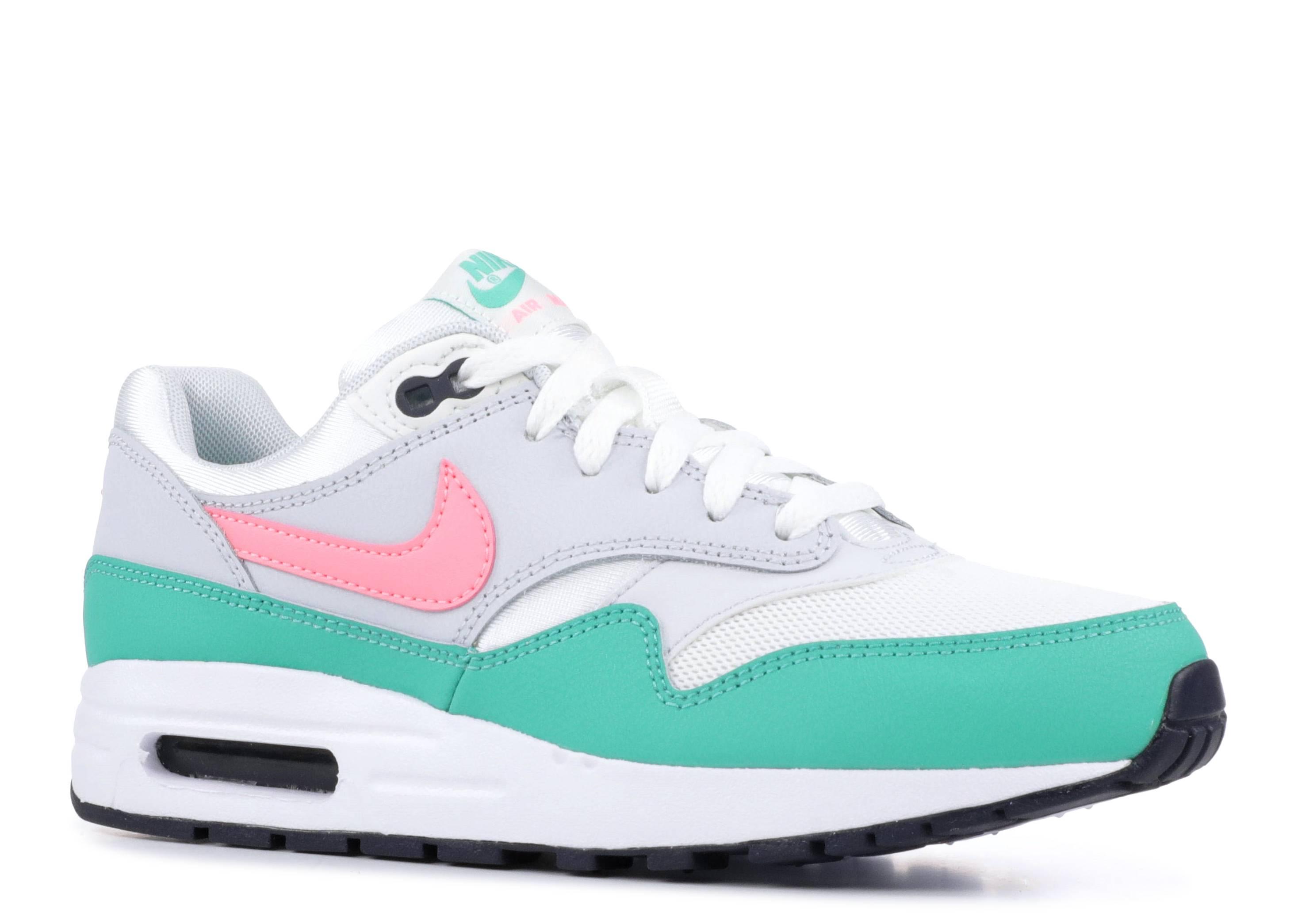 Nike Air Max 1 Green Watermelon Pink Women Zoom Running