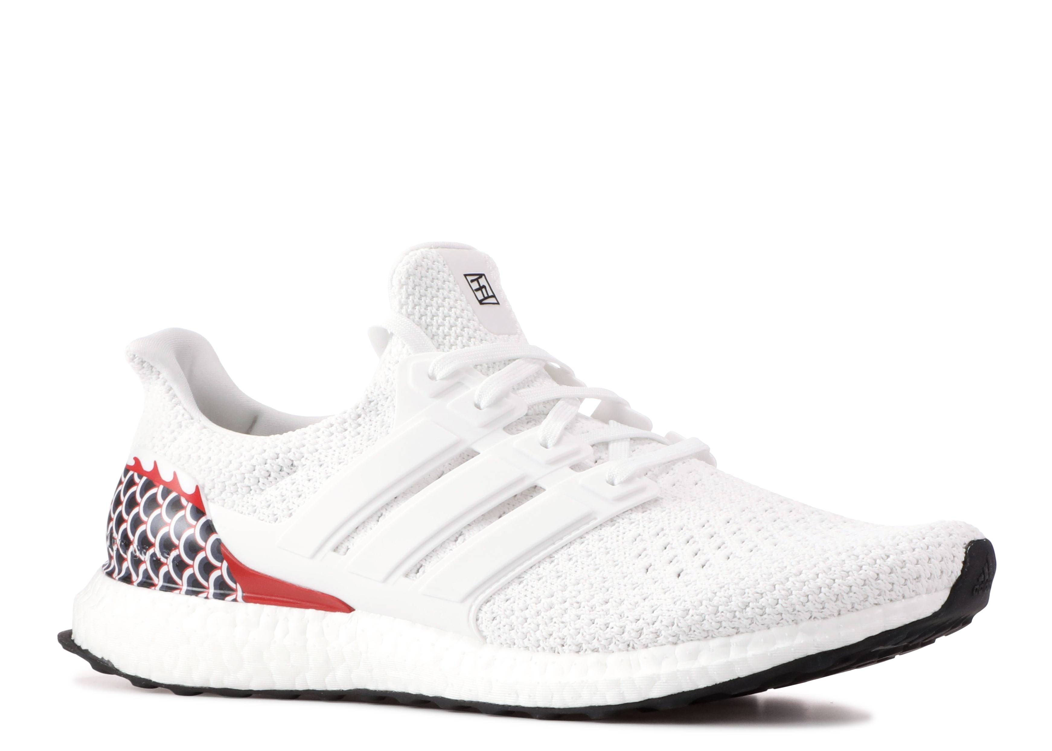 82f3f7c5aaccb Ultra Boost Clima Dragon Boat - Adidas - ee7150 - white red multi ...