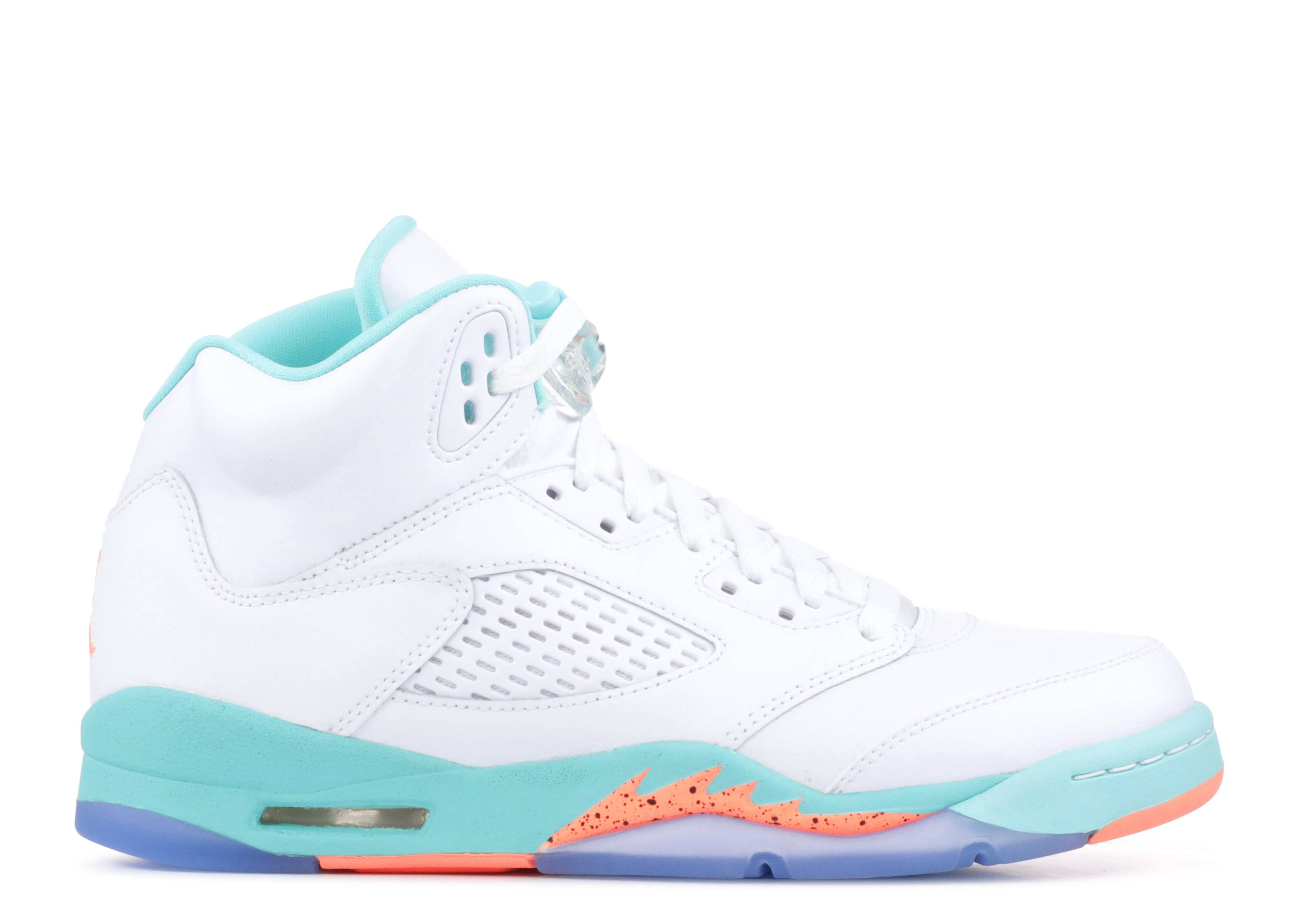 cd4875df875 Air Jordan 5 Retro Gg - Air Jordan - 440892 100 - white crimson ...