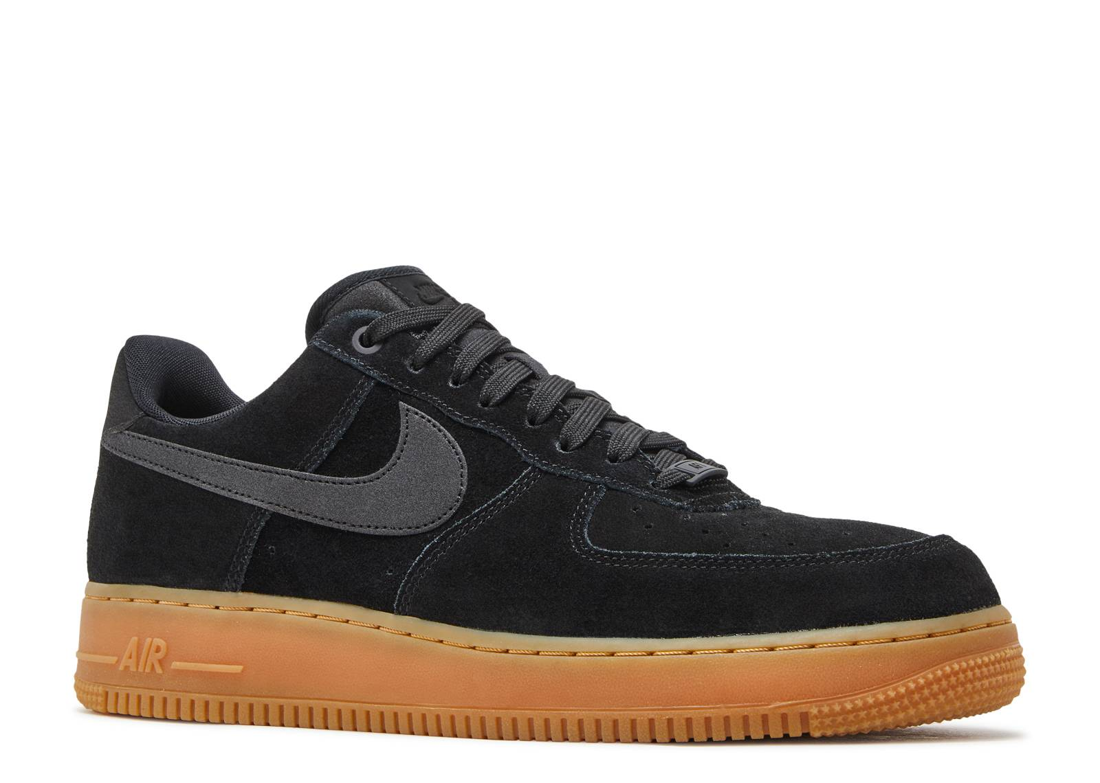 Air Force 1 07 LV8 SUEDE - Nike - AA1117 001 - black gum  8af2ad185