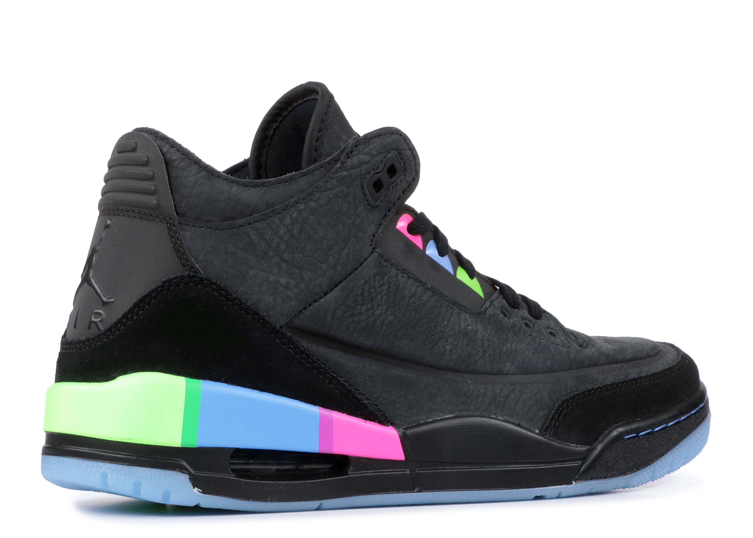 Ausencia Haz todo con mi poder Dinámica  Air Jordan 3 Retro 'Quai 54' - Air Jordan - AT9195 001 - black/electric  green-infrared 23-black | Flight Club