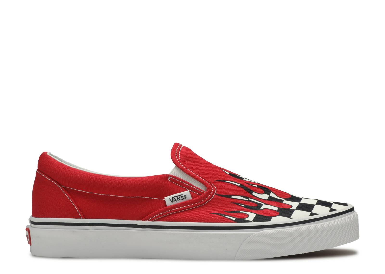 "Classic Slip-On ""Checker Flame"""