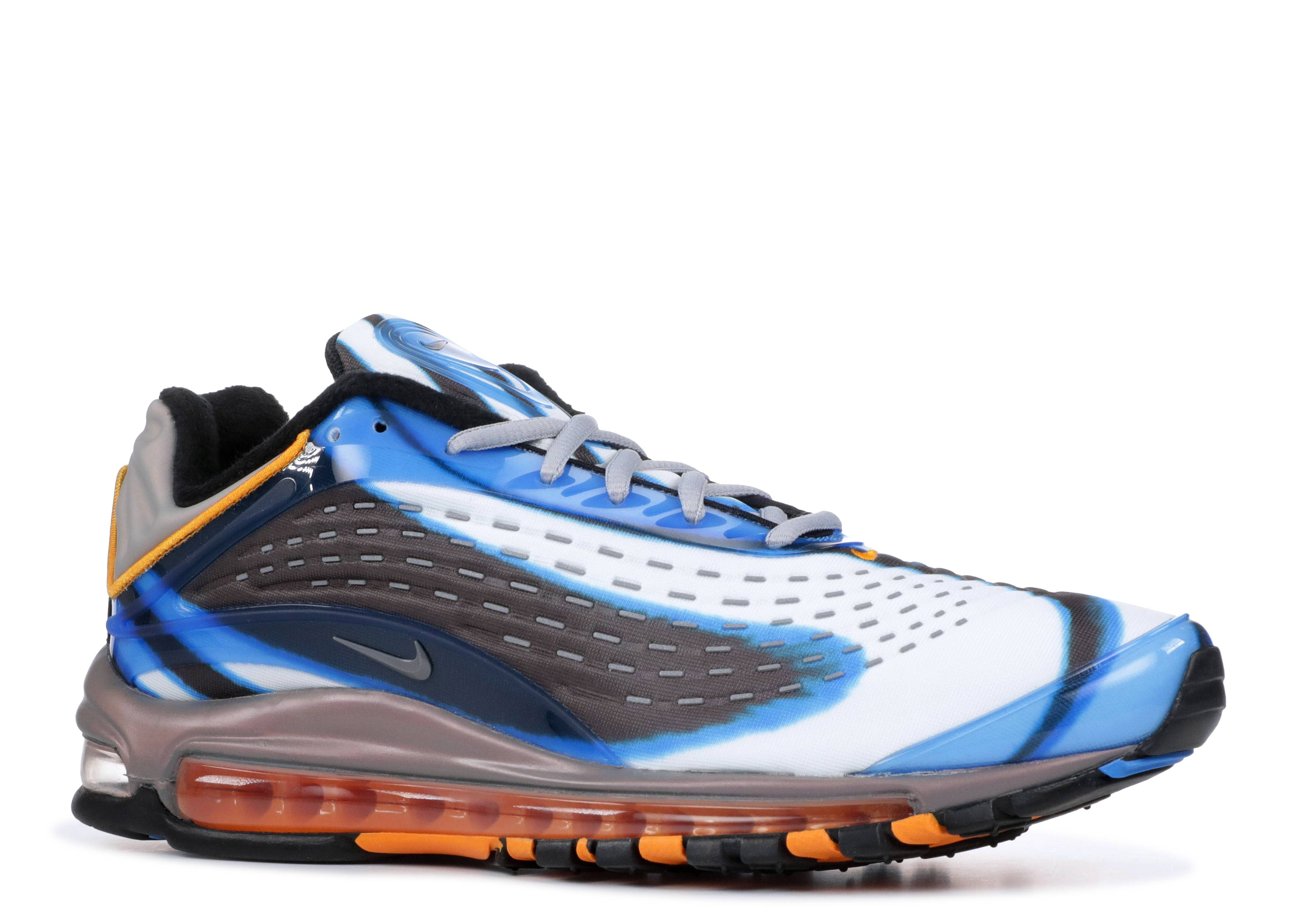 155a9963c198 Nike Air Max Deluxe - Nike - AJ7831 401 - photo blue wolf grey-orange peel- black