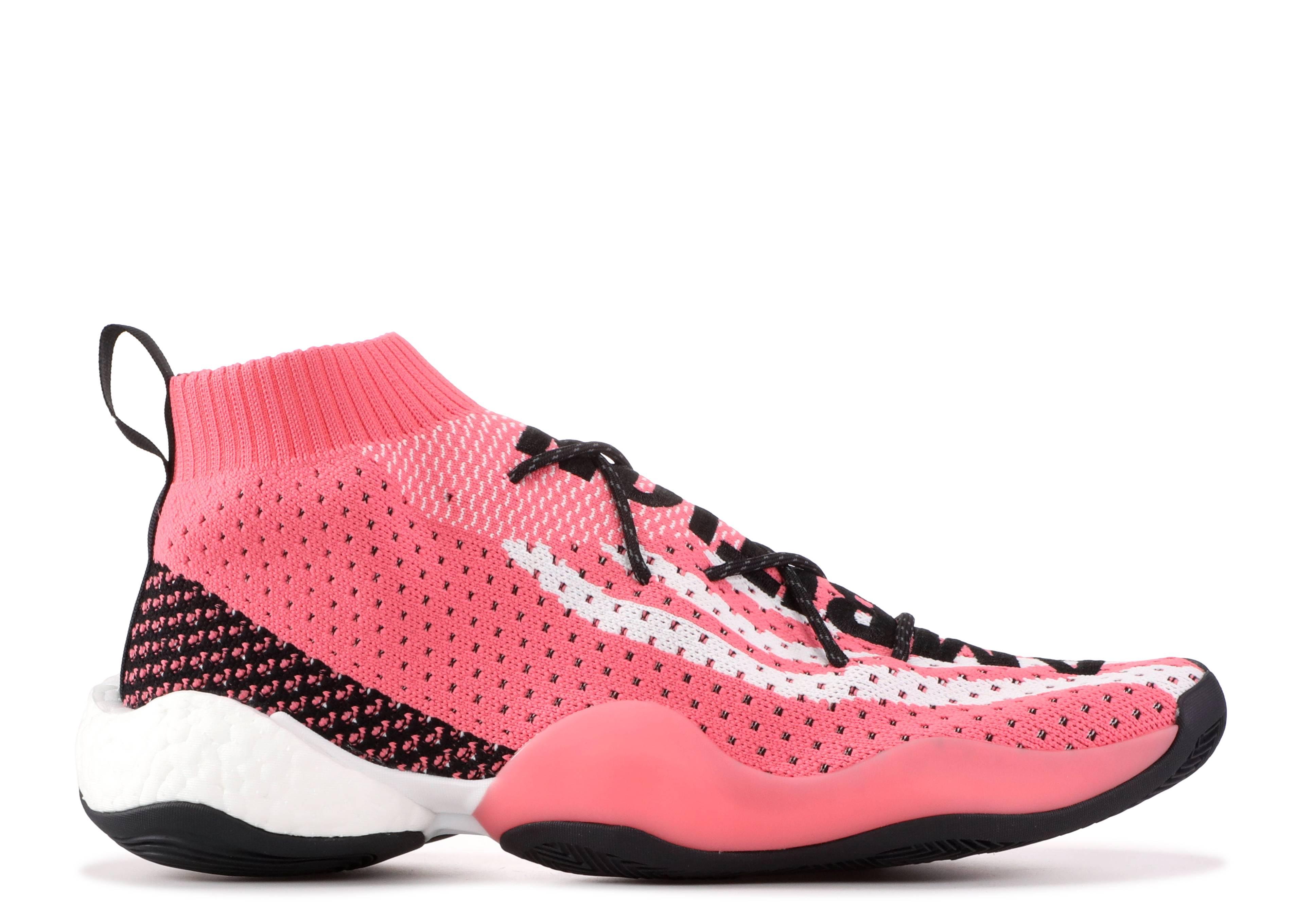 49d8924ca90c9 CRAZY BYW LVL X PW - Adidas - g28183 - chalk pink footwear white ...