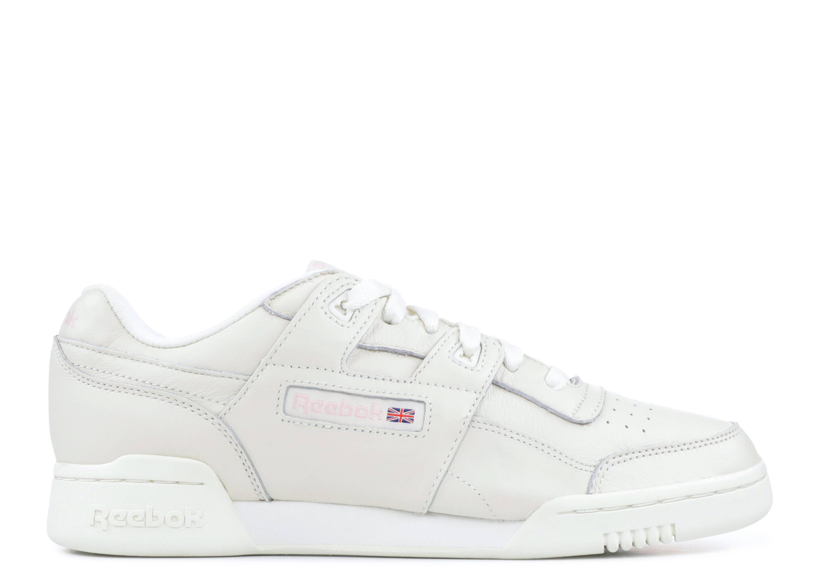07e7e4205f8a W s WORKOUT LO PLUS - Reebok - cn4610 - vintage-white practical pink ...