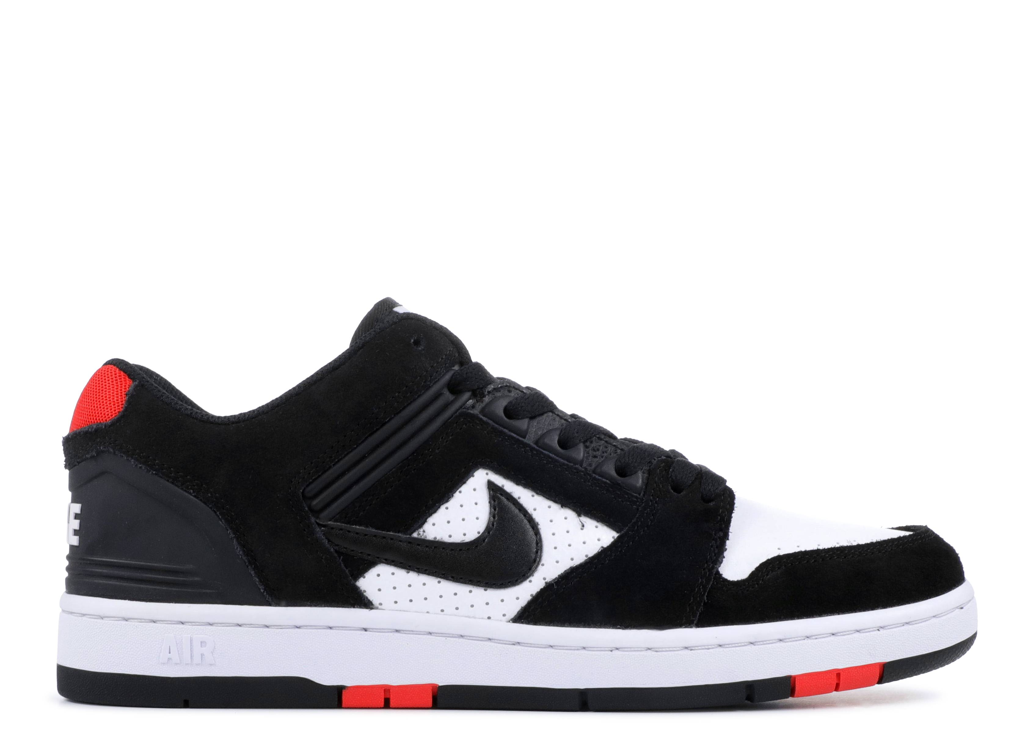 "nike sb air force 2 low ""Bred"""