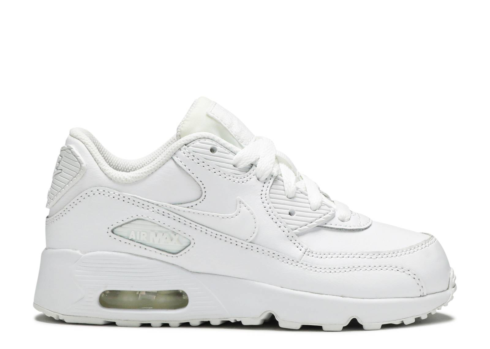 "nike air max 90 ltr (PS) ""triple white"""