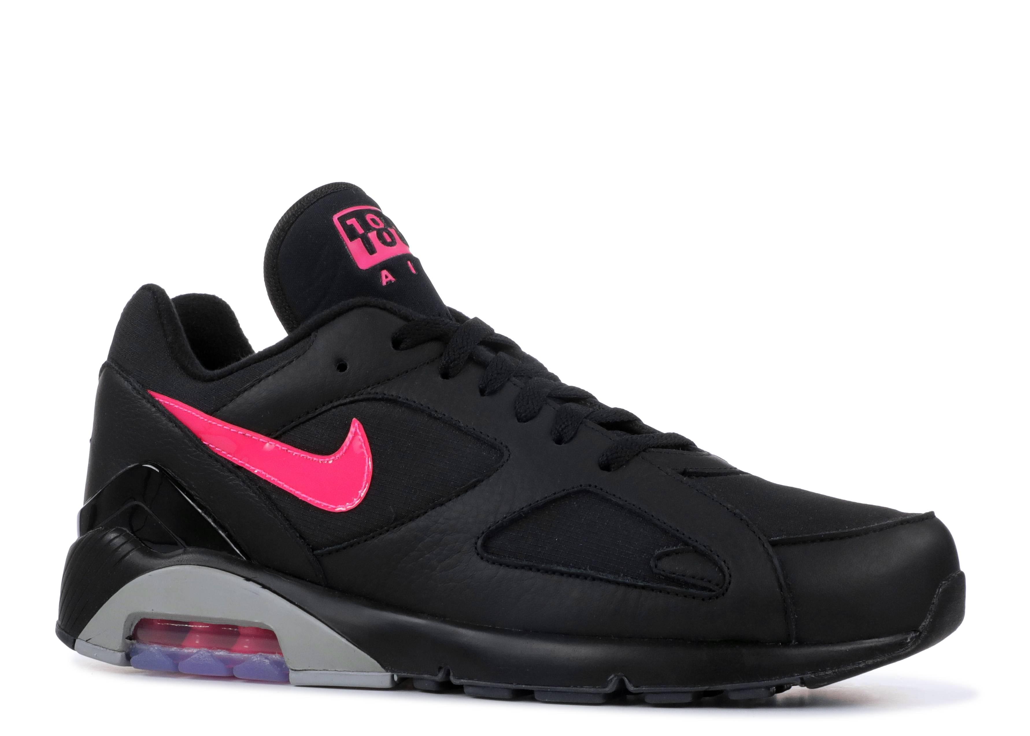 Air Max 180 - Nike - AQ9974 001 - black pink blast-wolf grey ... 25af03118