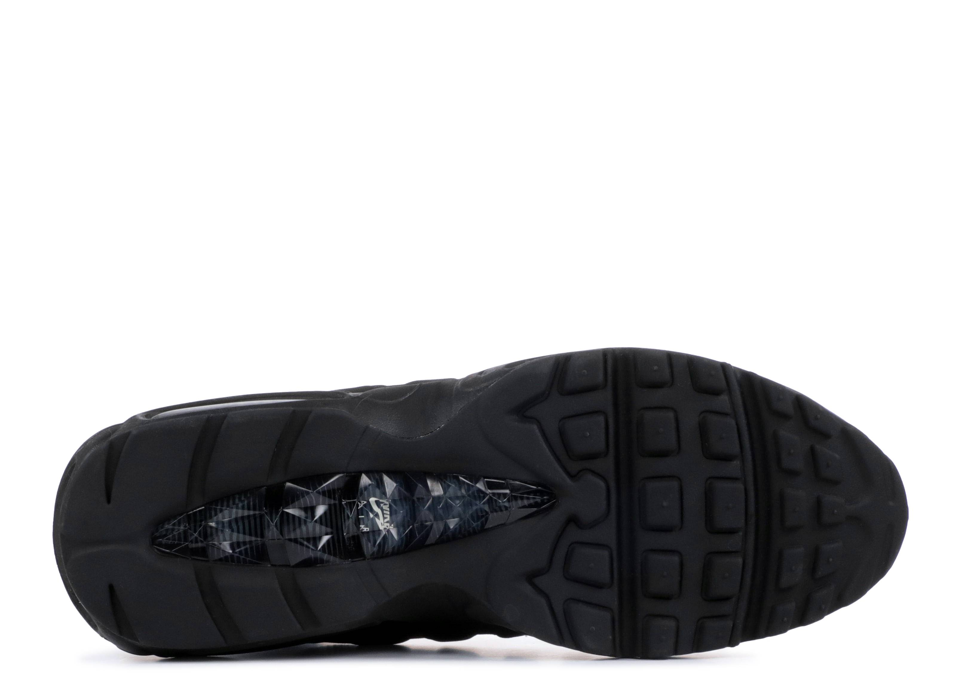 Zapatos NIKE Air Max 95 Sneakerboot 806809 001 BlackBlackAnthraciteWhite