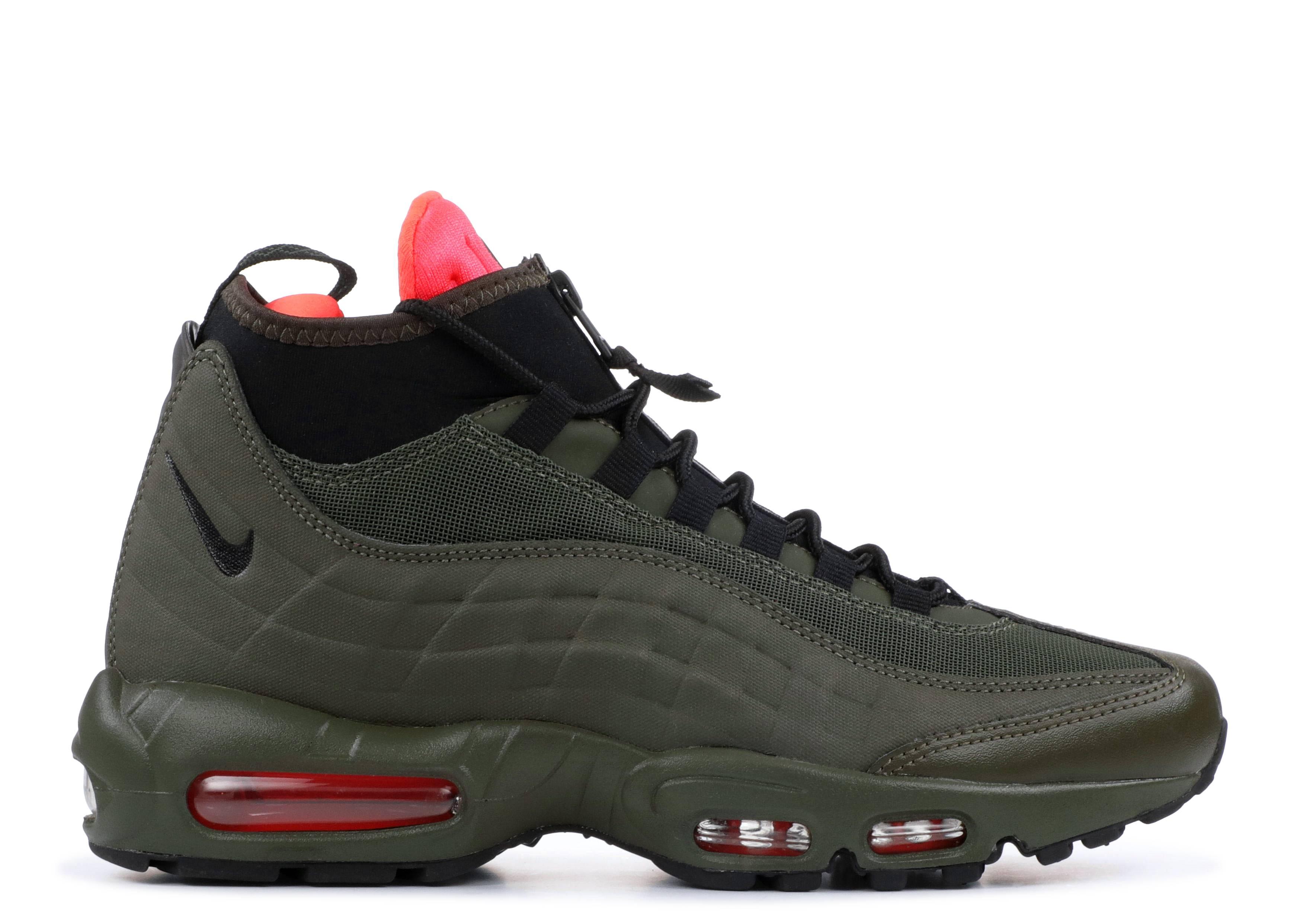 huge discount f2e5f 9b957 Nike Air Max 95 Sneakerboot - Nike - 806809 300 - dark loden black-cargo  khaki   Flight Club